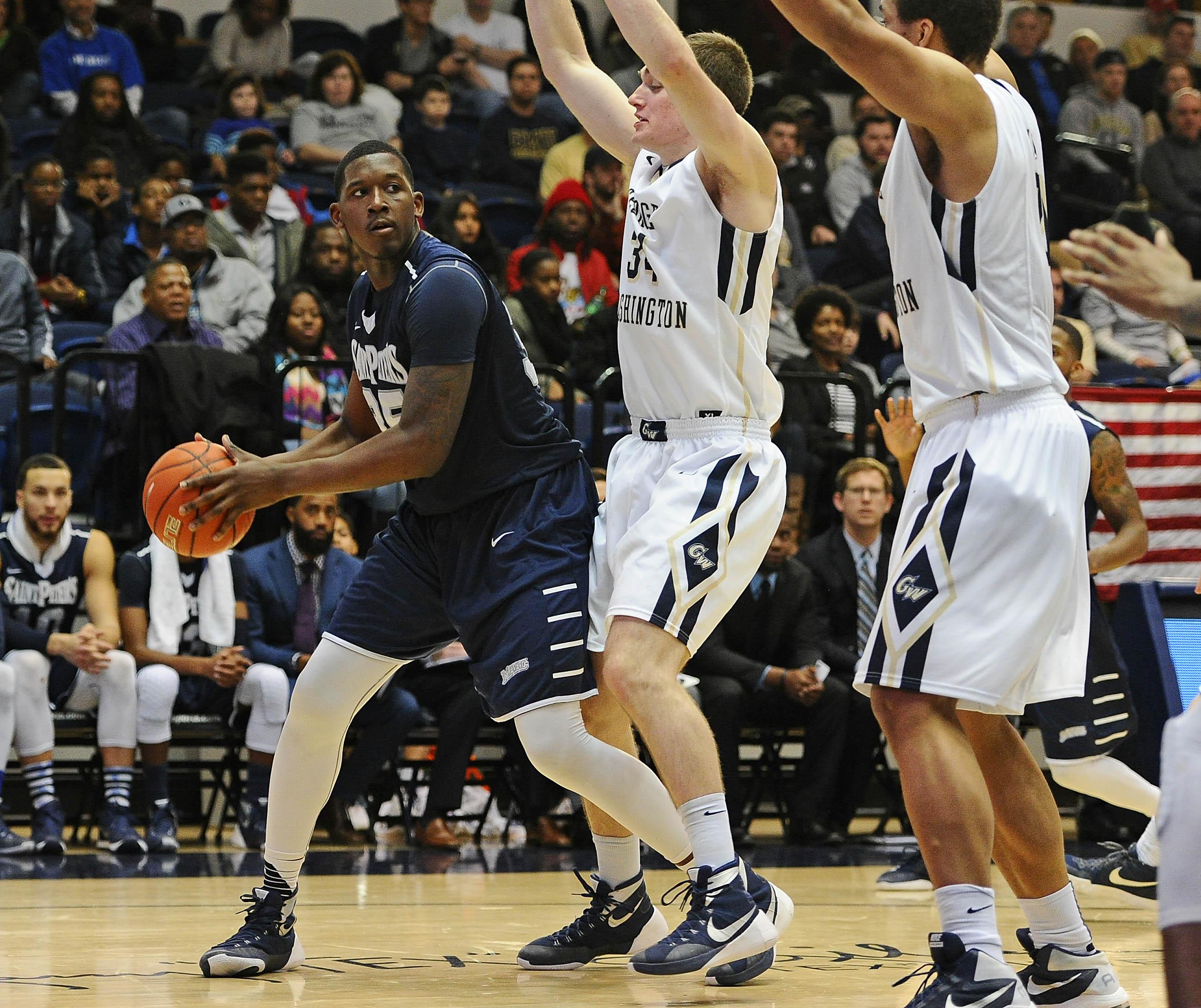 NCAA Basketball: St. Peter's at George Washington