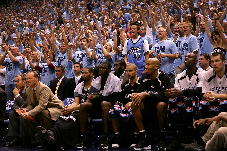 San Antonio Spurs v Utah Jazz, Game 3