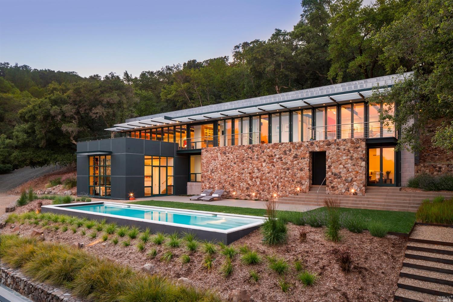 Sonoma County estate with pool, mountain views asks $7.9M