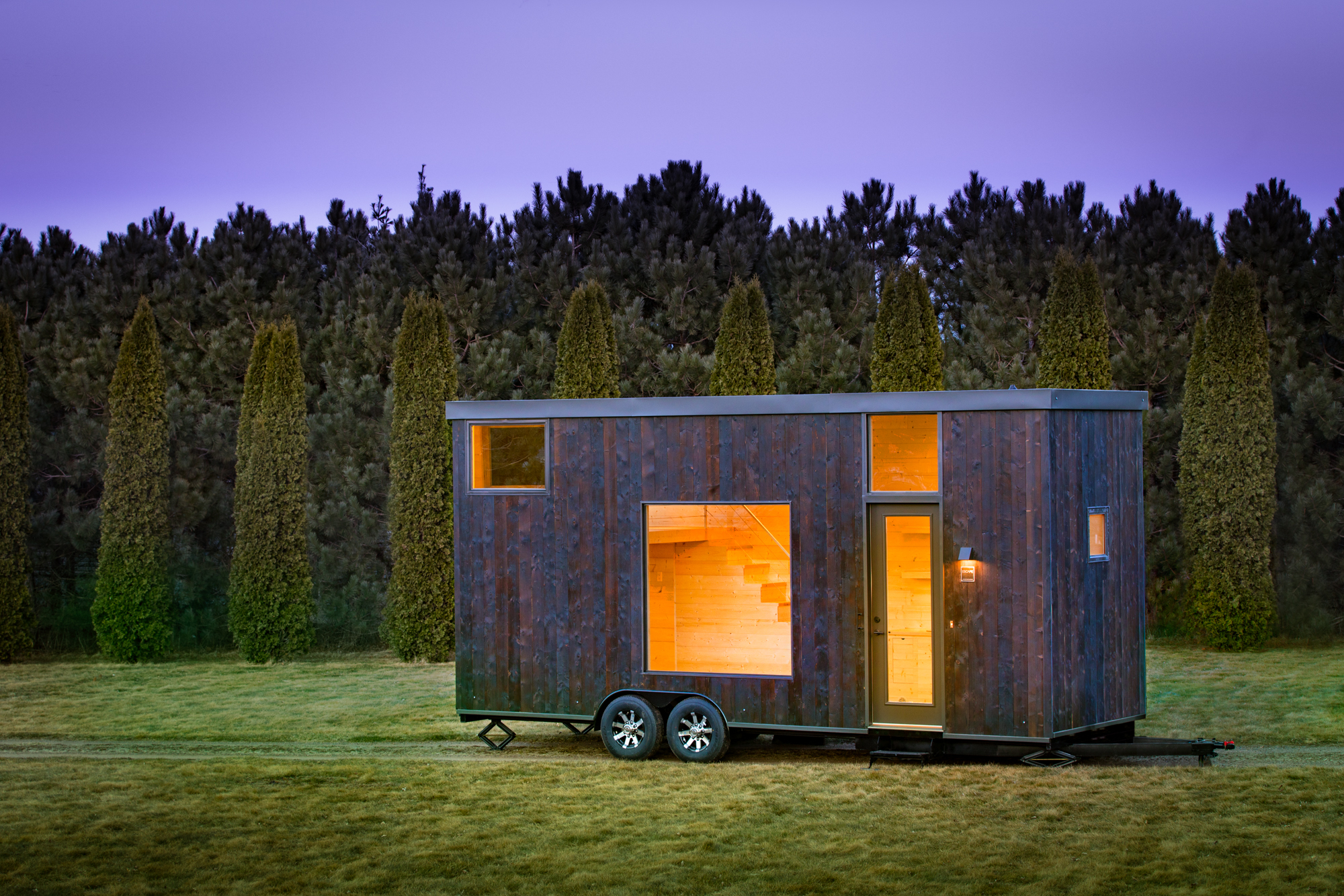 New tiny house is a calming blank slate