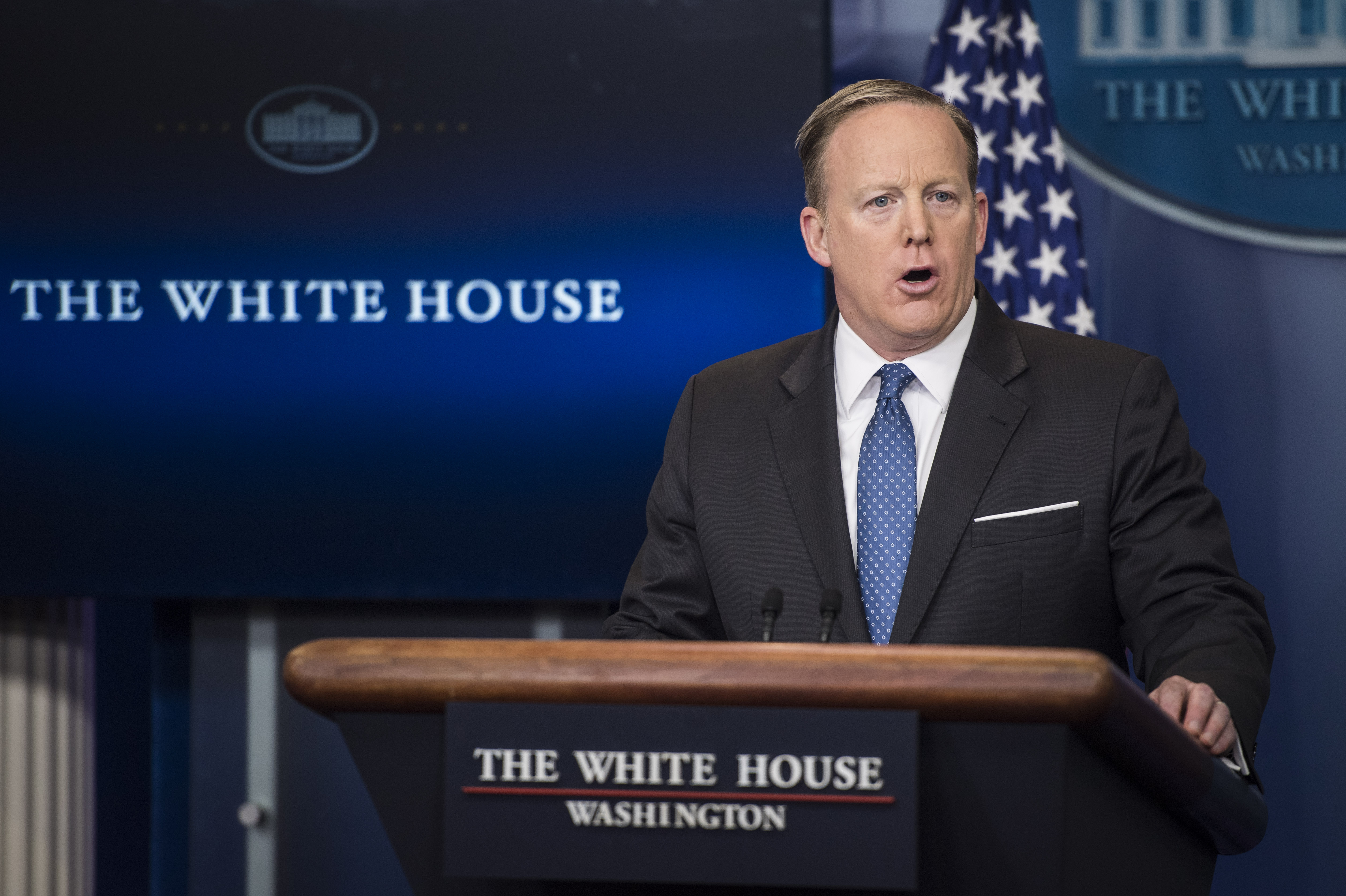 """Sean Spicer called ProPublica a """"left-wing blog."""" ProPublica came back with the receipts."""