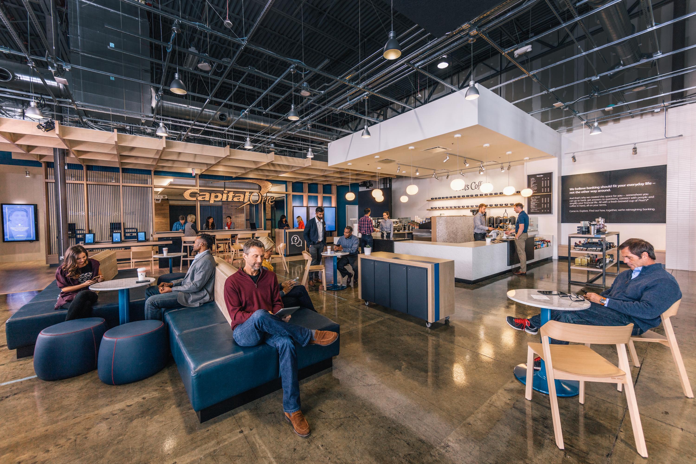 Inside a Capital One Cafe