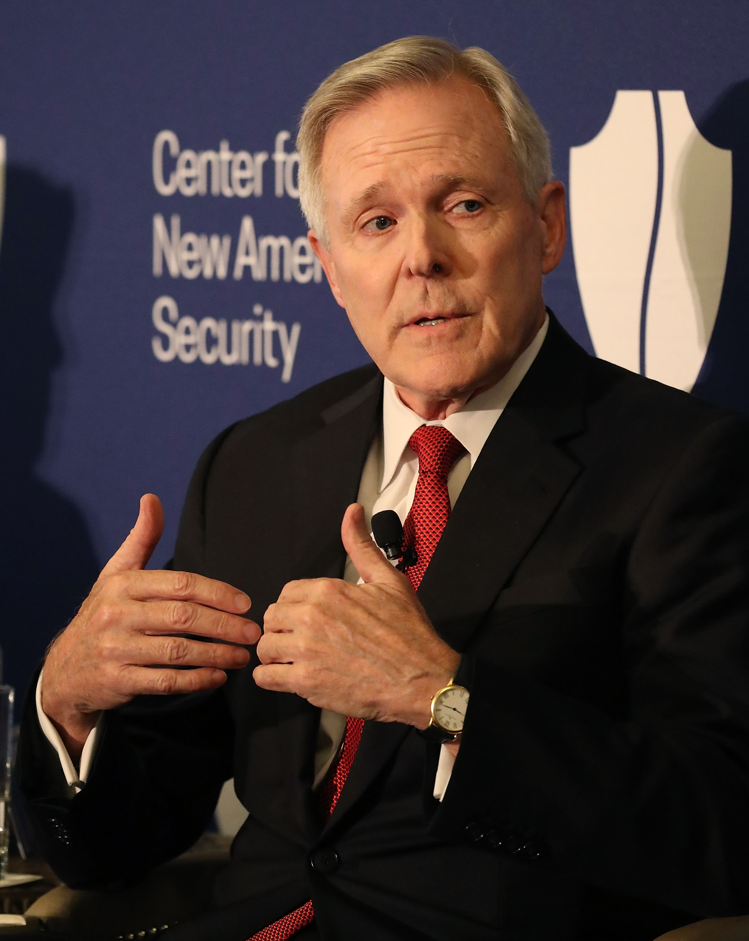 Army, Navy And Air Force Secretaries Discuss National Security In Washington