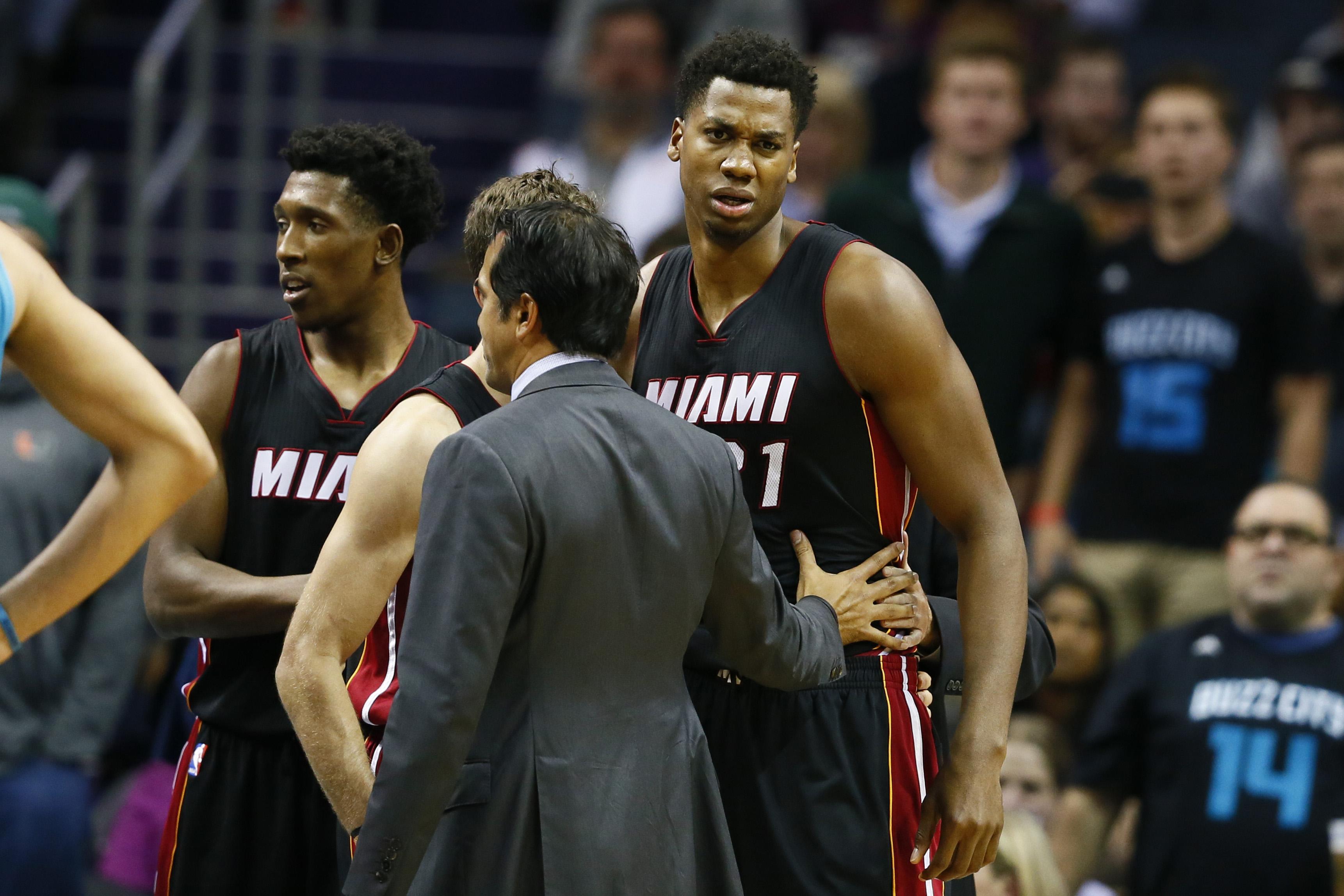 NBA: Miami Heat at Charlotte Hornets