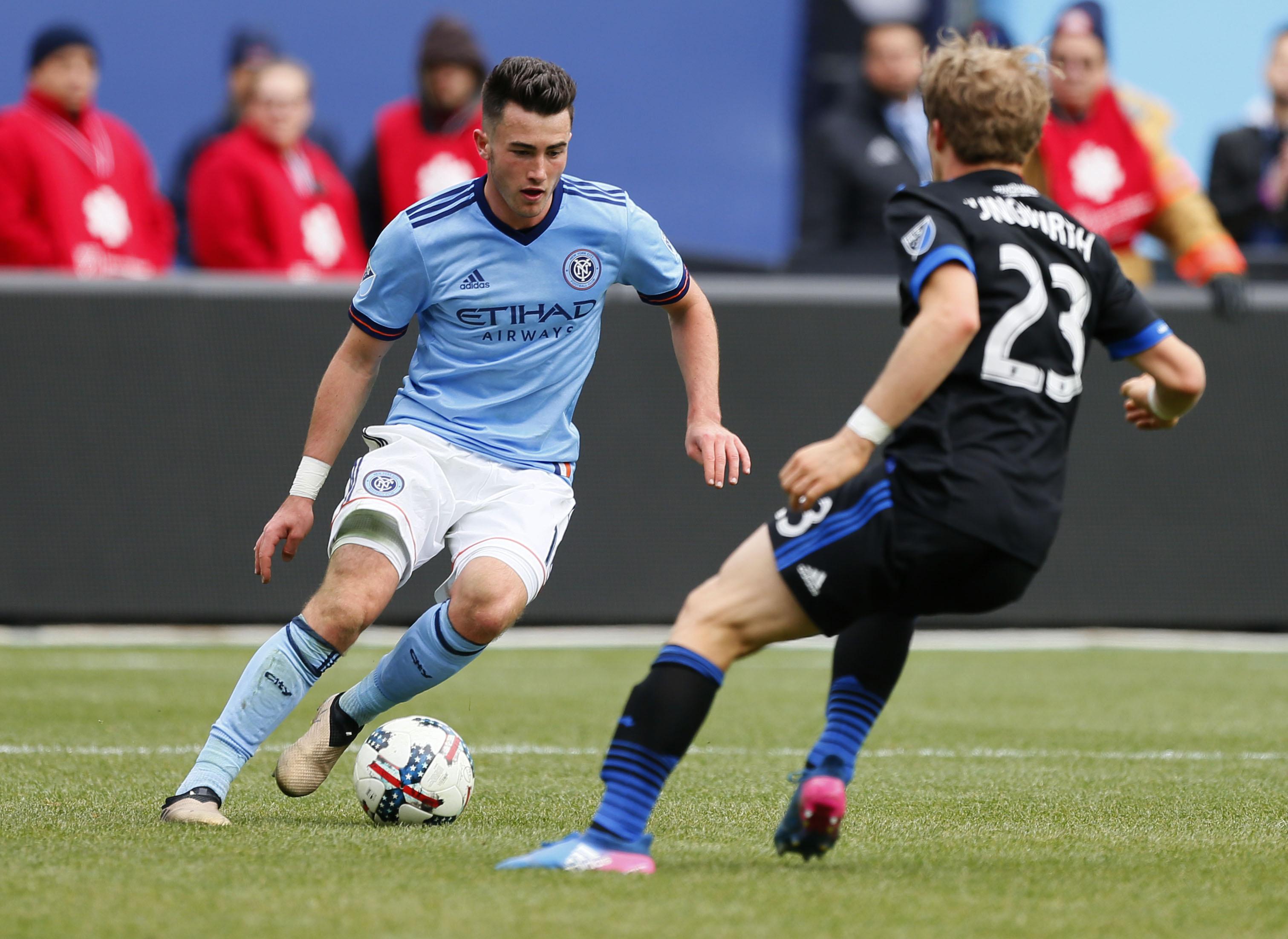 MLS: San Jose Earthquakes at New York City FC