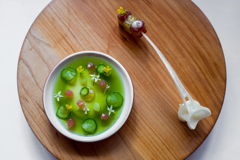 artichoke and tuna