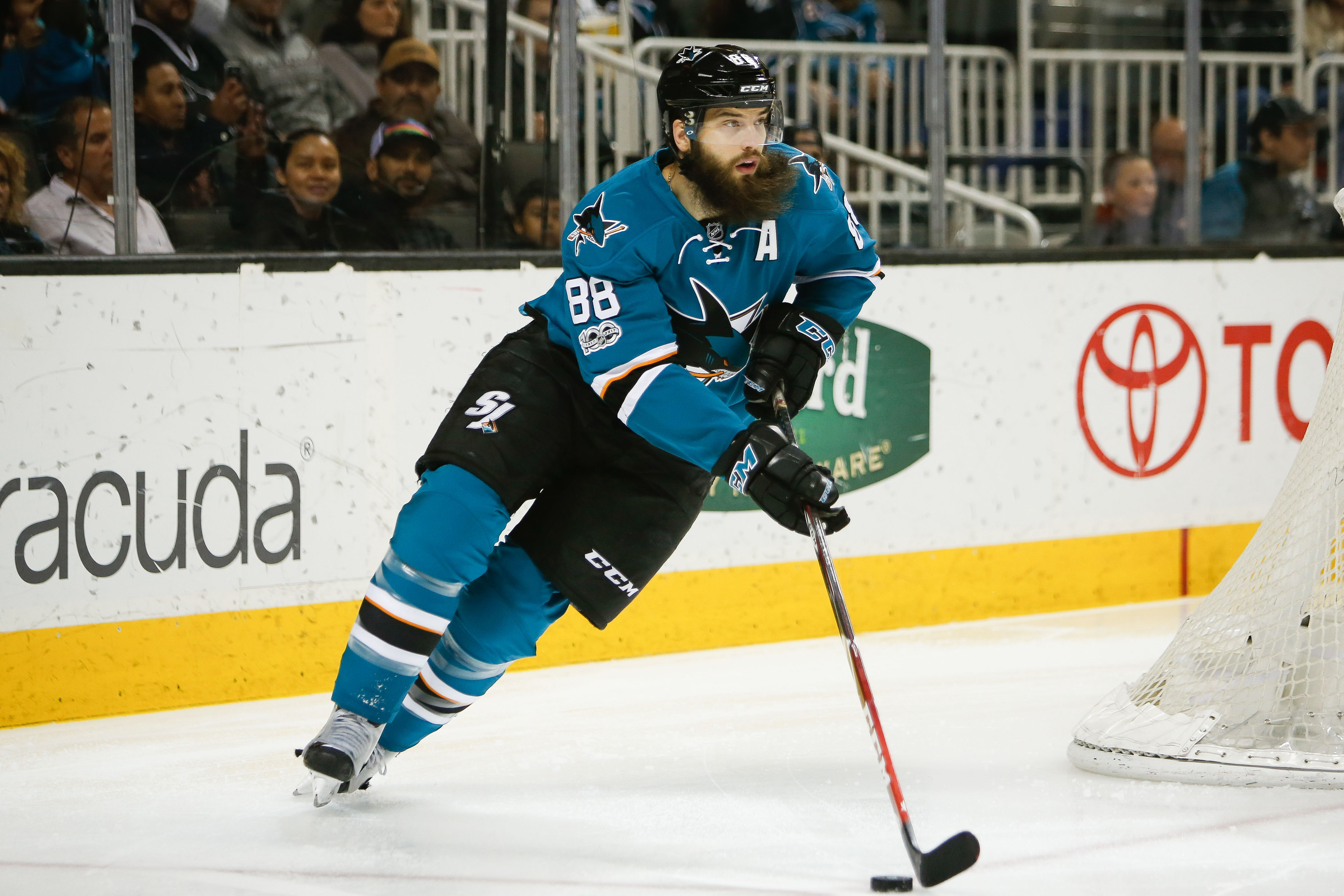 NHL: Calgary Flames at San Jose Sharks