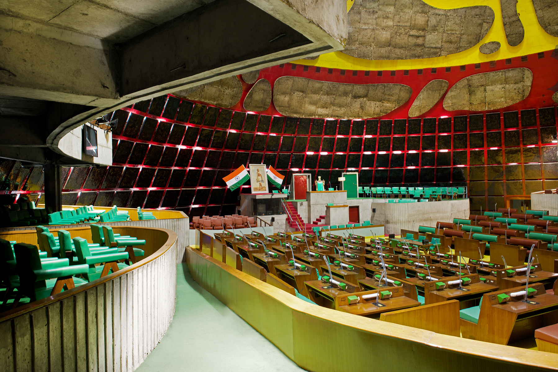 Carte Inde Chandigarh.Le Corbusier S Utopian City Chandigarh And Its Faded Glory