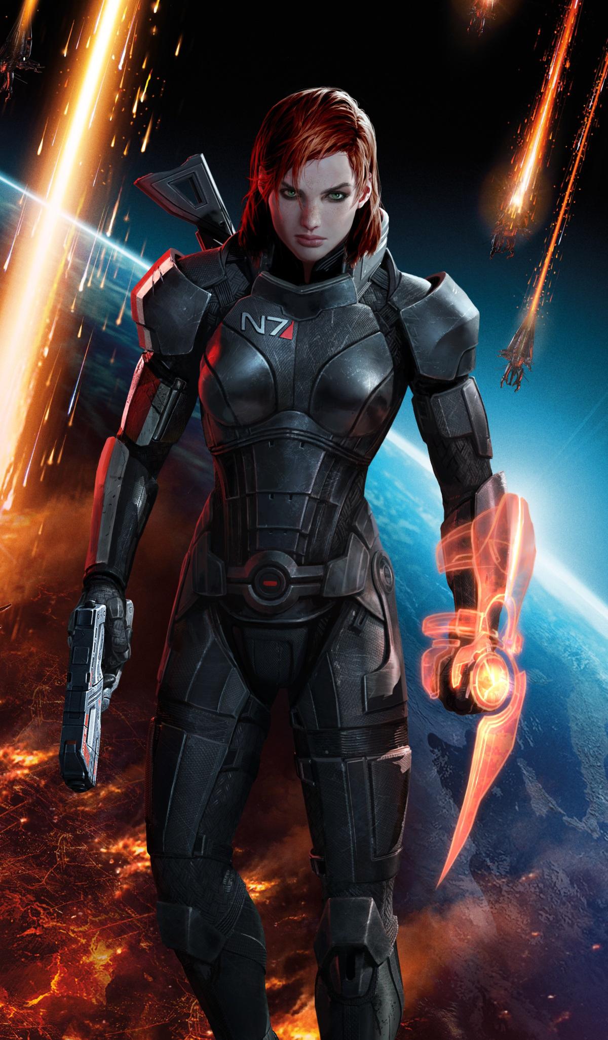 Mass Effect 3 FemShep art 1200
