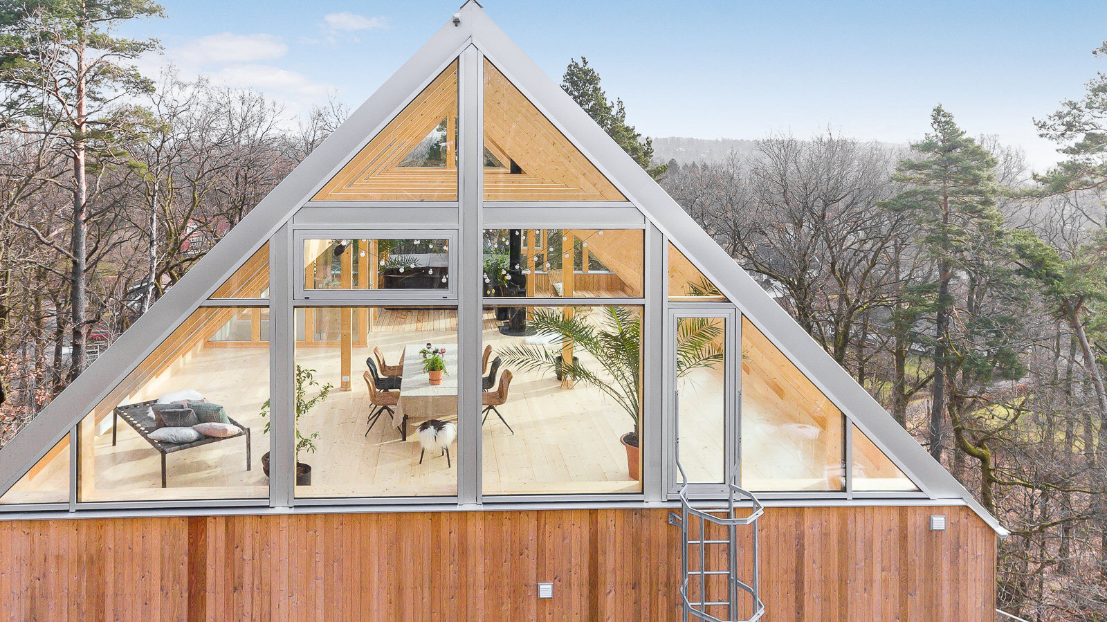 Glass-roofed heaven in Sweden can be yours for $1.3M