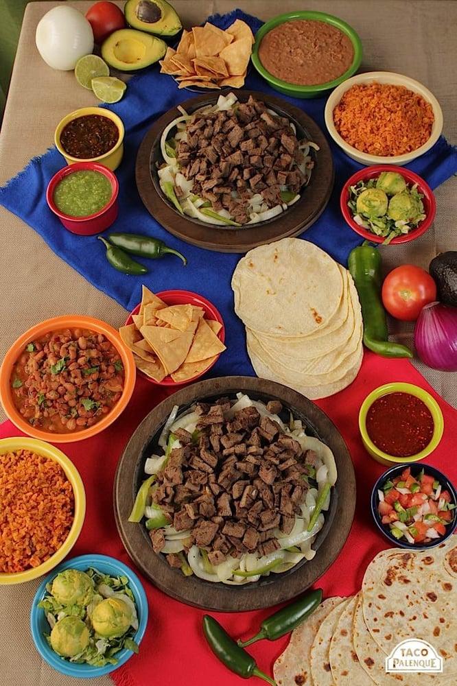 Taco Palenque's food