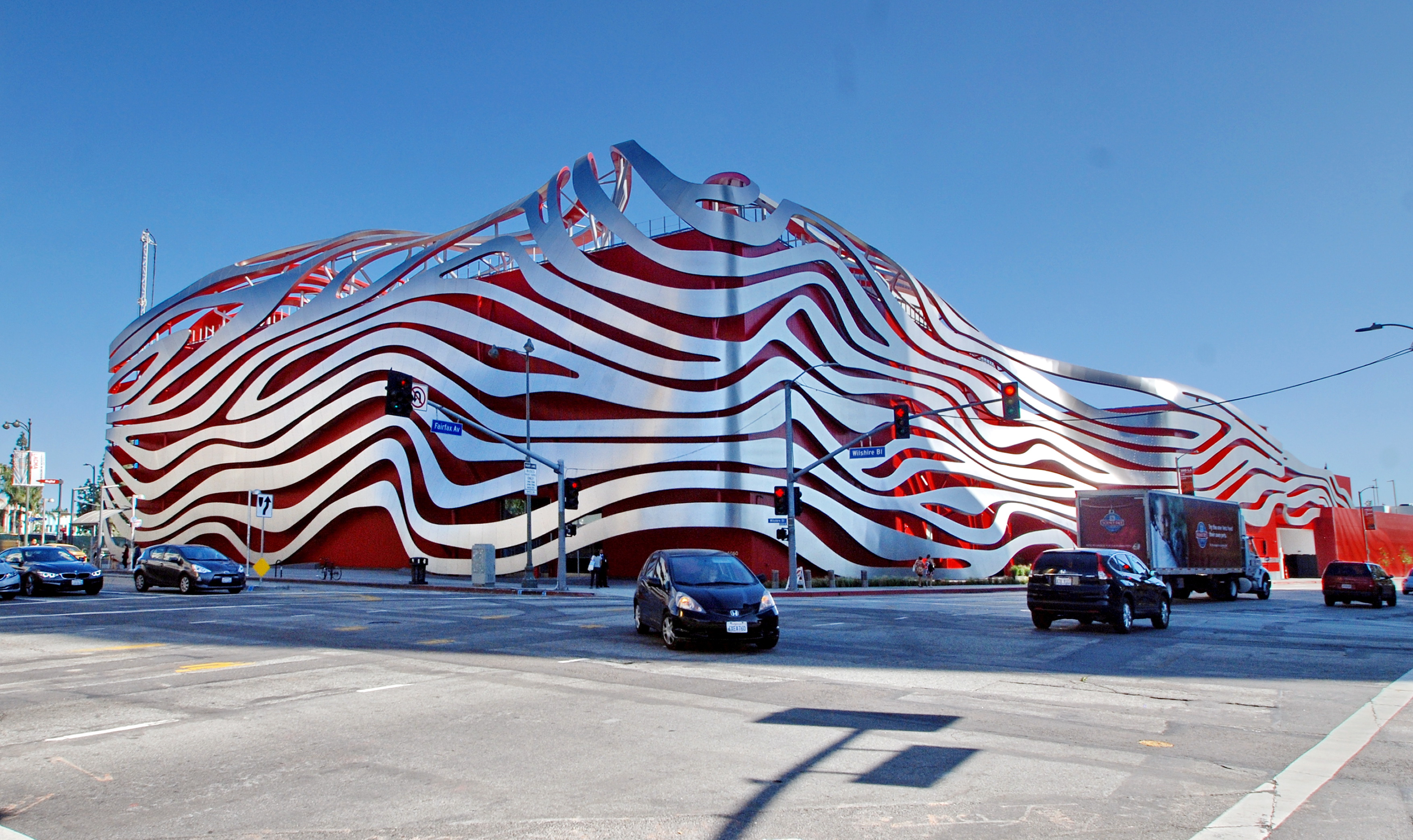 The Petersen Museum—one of LA's most loathed buildings—wins an American Architecture Award