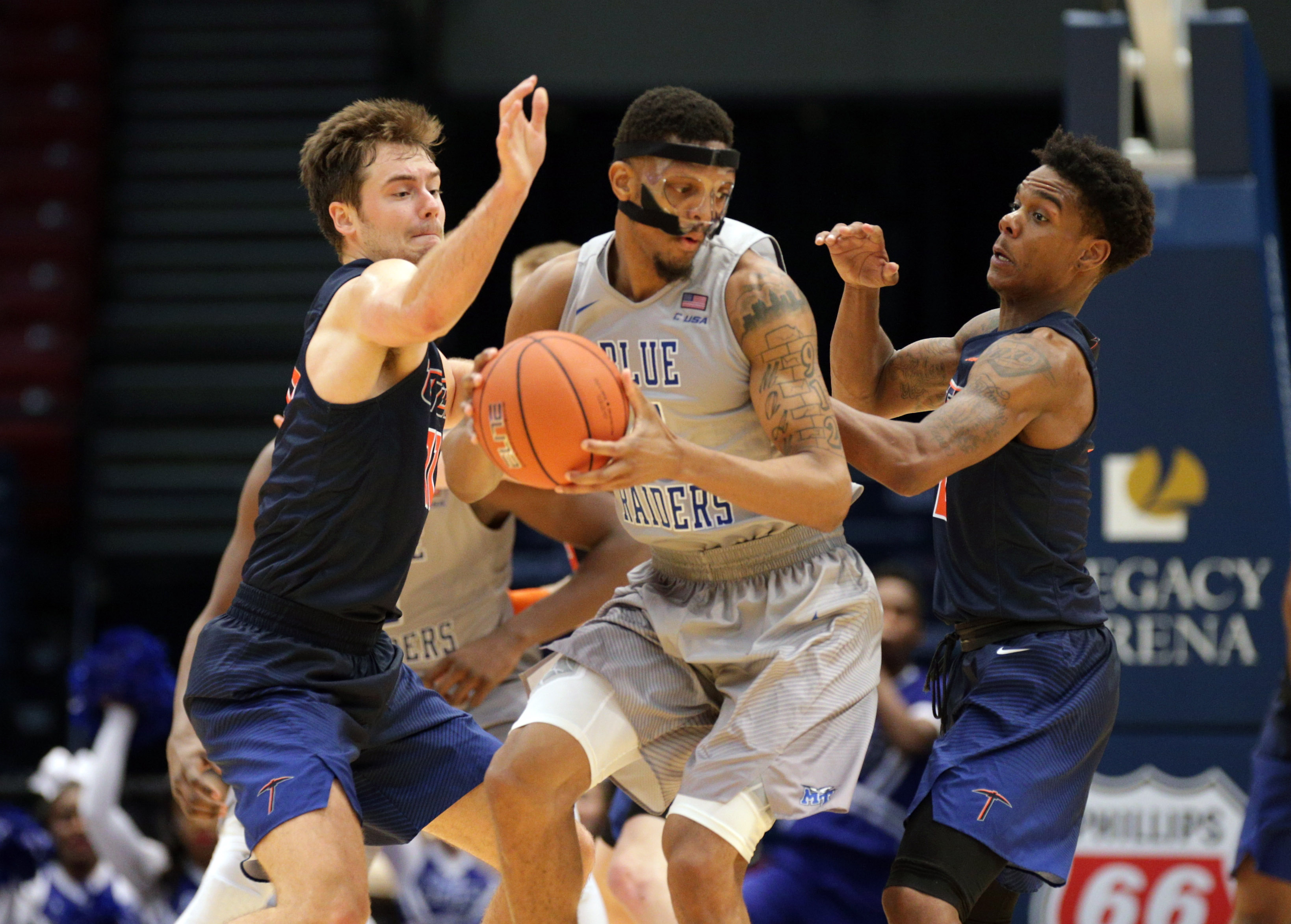 NCAA Basketball: Conference USA Tournament- Middle Tennessee State vs Texas El Paso