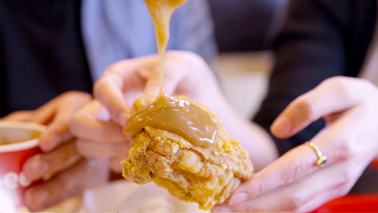 Jollibee Chickenjoy fried chicken