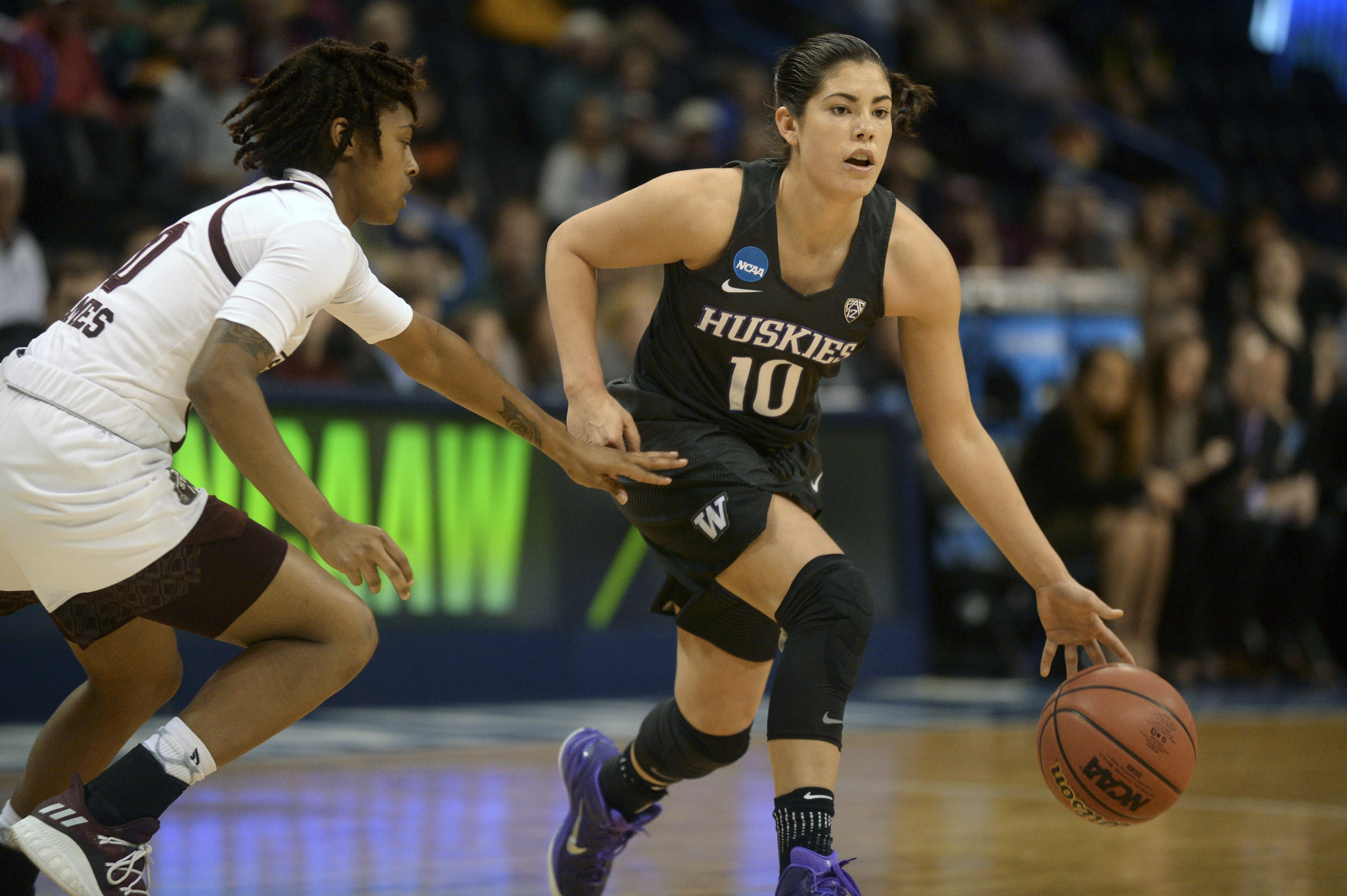 NCAA Womens Basketball: NCAA Tournament-Oklahoma City Regional-Mississippi State vs Washington