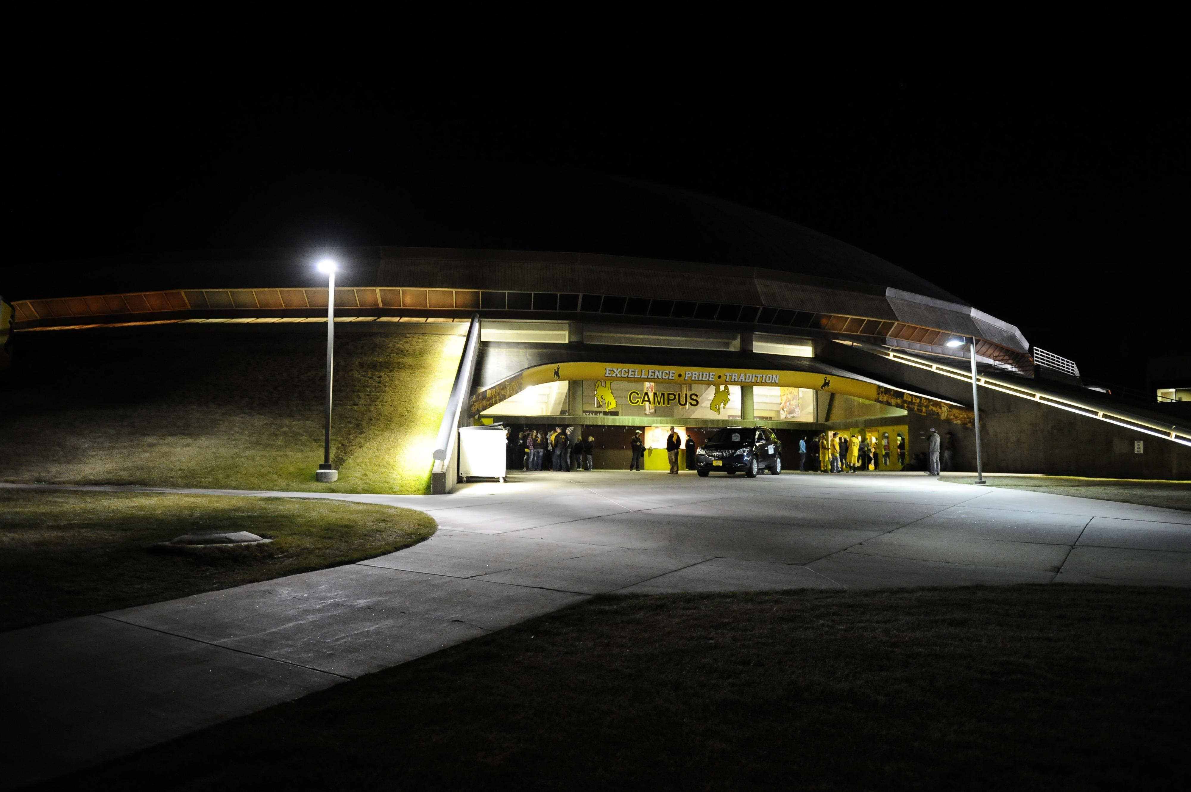 Entrance to Arena Auditorium