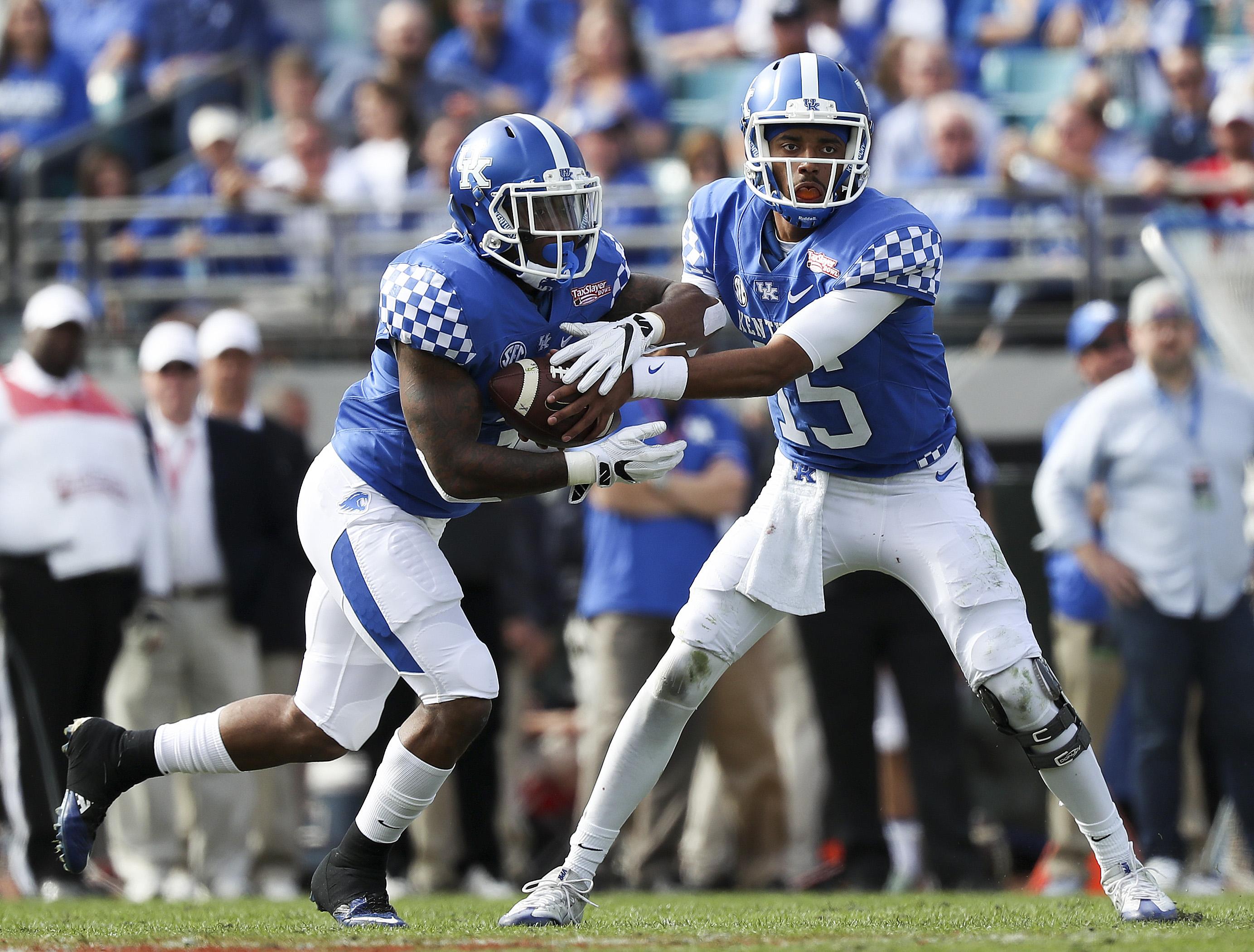 NCAA Football: TaxSlayer Bowl-Kentucky vs Georgia Tech