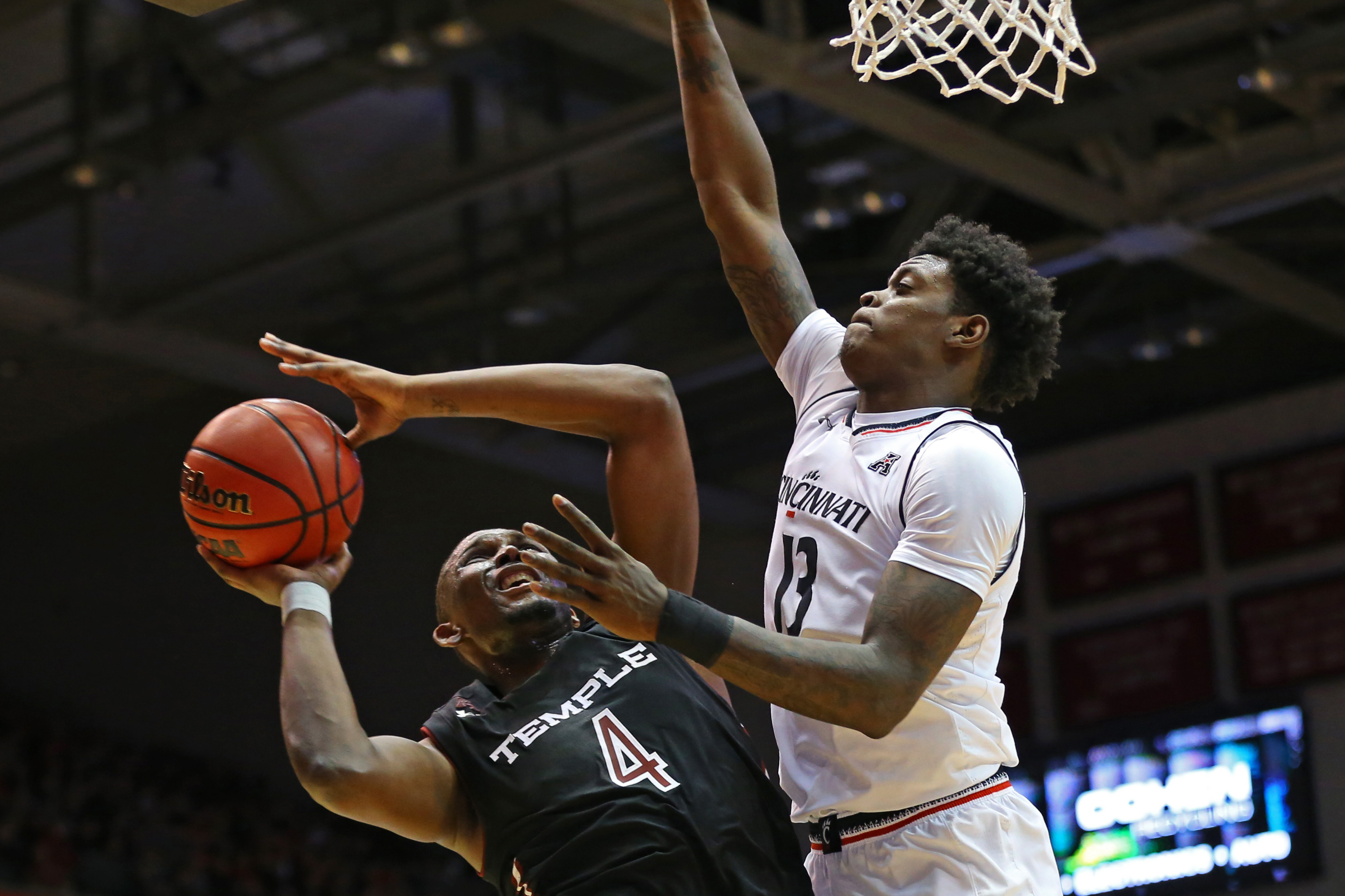 NCAA Basketball: Temple at Cincinnati
