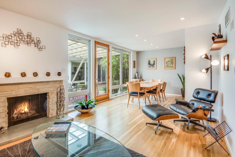 Stylishly updated midcentury home in Long Beach asks $829K