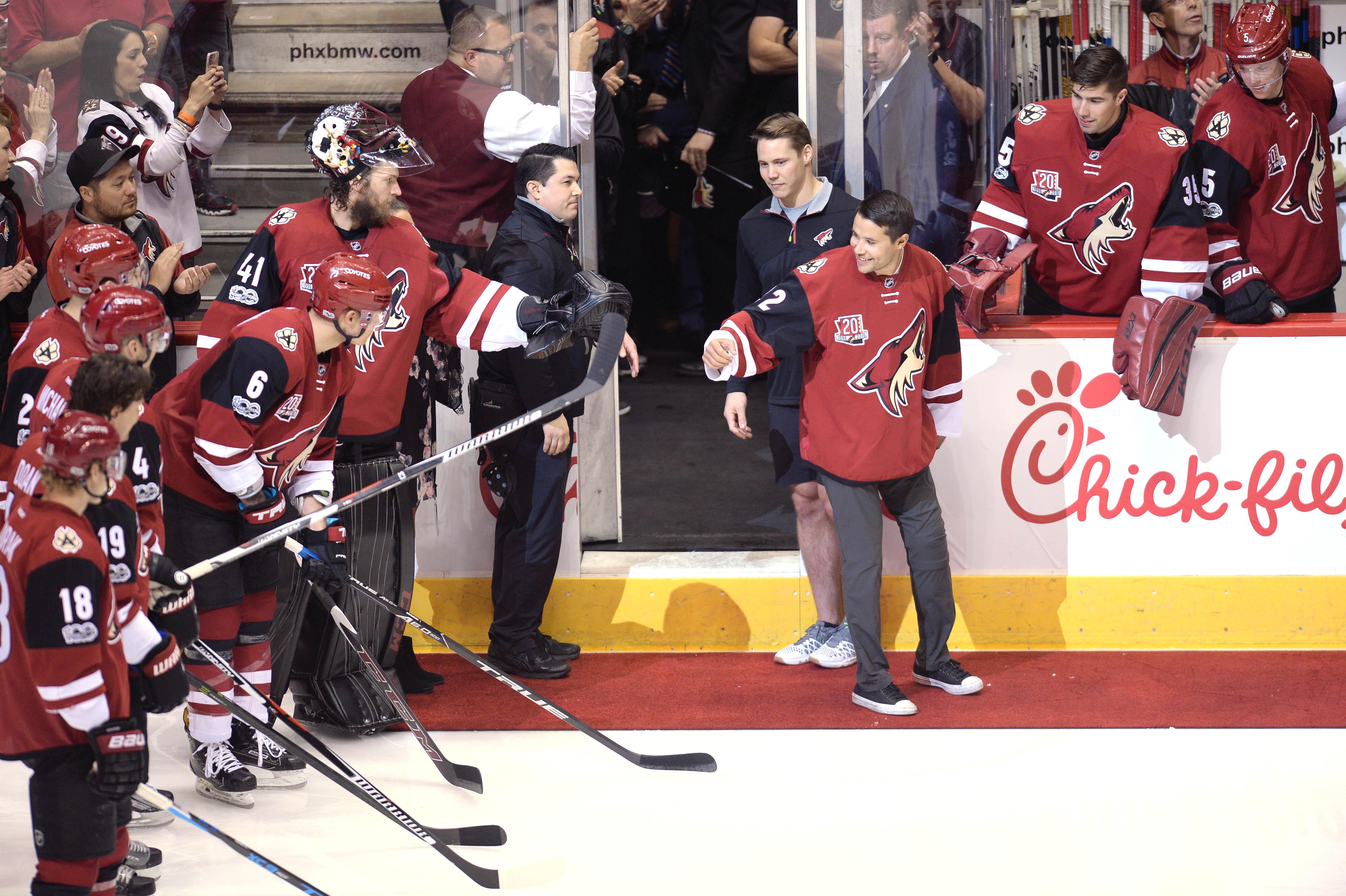 NHL: Minnesota Wild at Arizona Coyotes