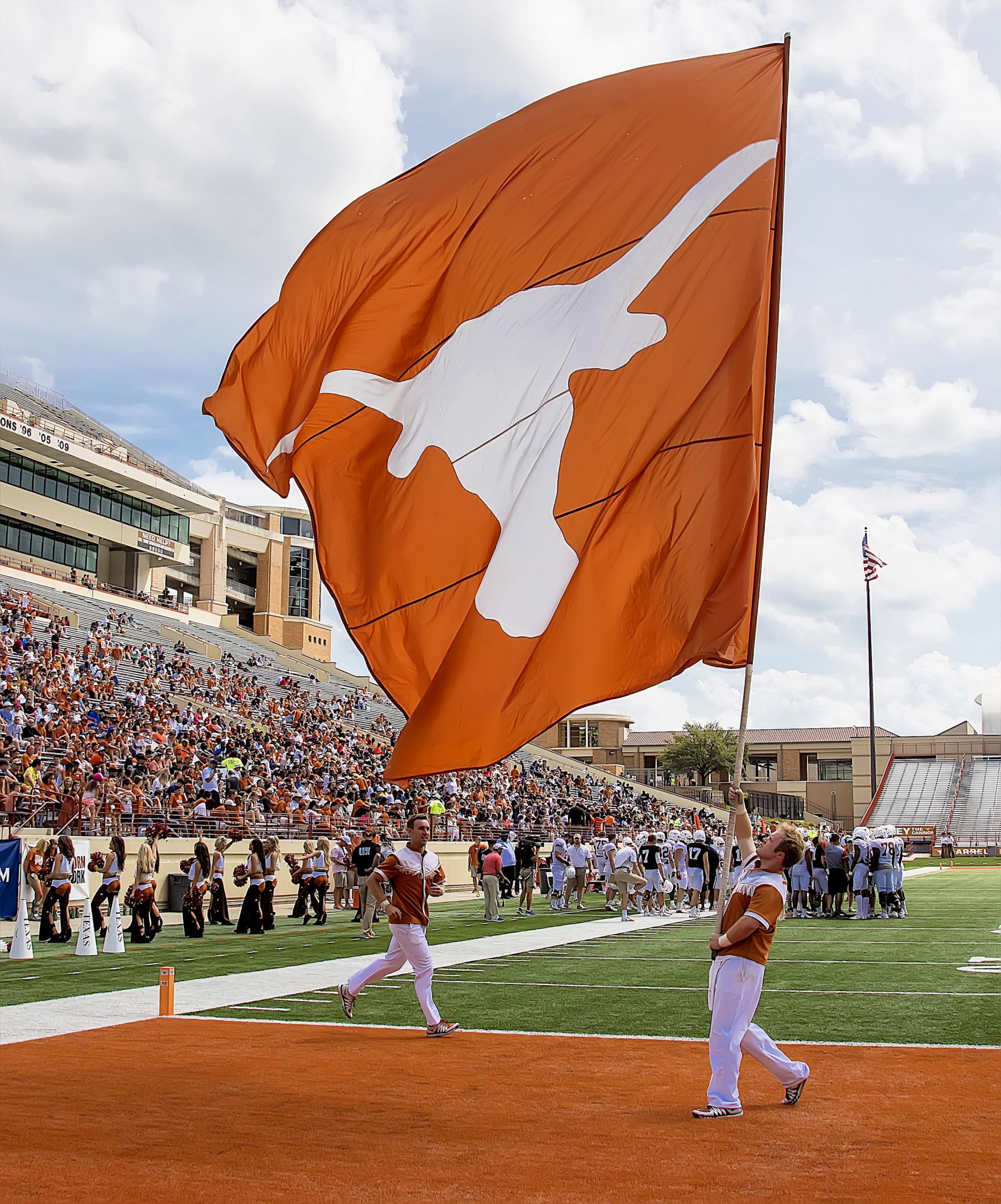 Virtual Future Texas Longhorns Football Locker Room