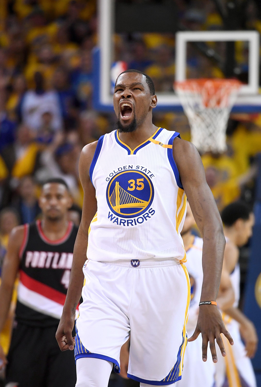 Portland Trail Blazers v Golden State Warriors - Game One