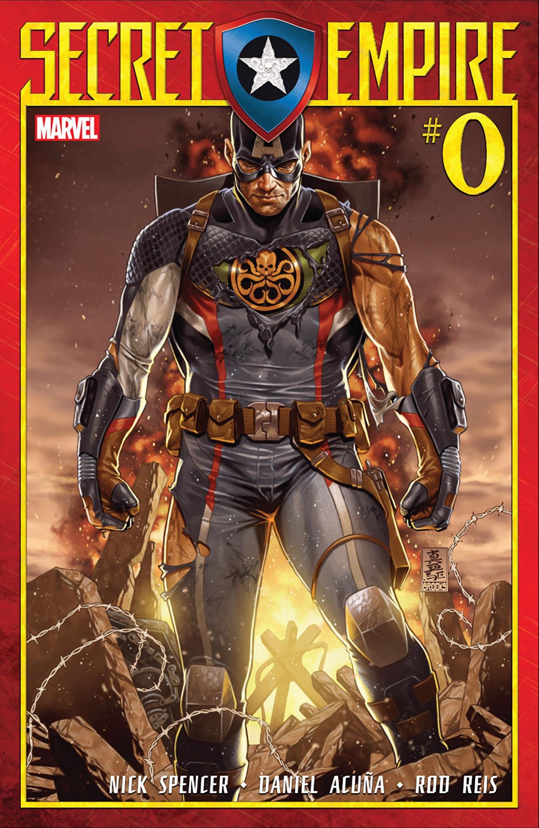 Marvel's Secret Empire kicks off by doubling down on Captain America's Nazi past