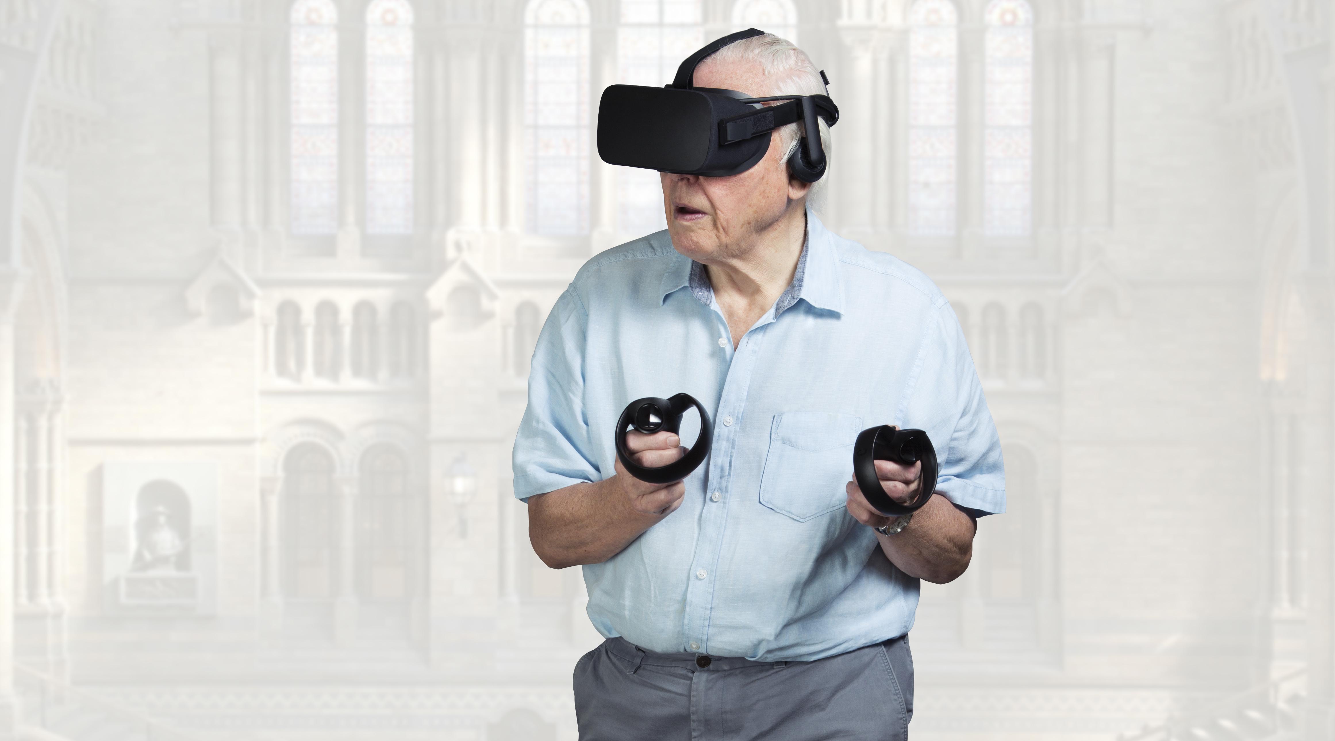 David Attenborough explaining rocks in VR will be incredibly calming