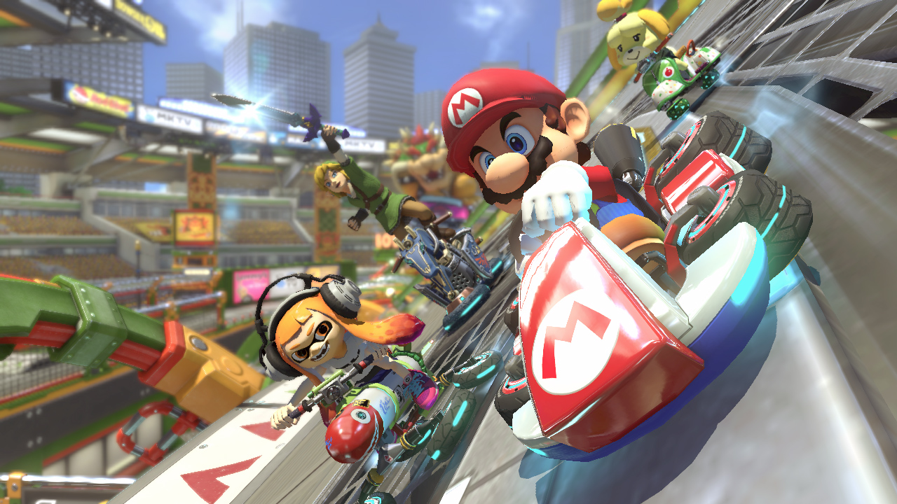 Mario Kart 8 Deluxe wireless play comes with a weird controller restriction