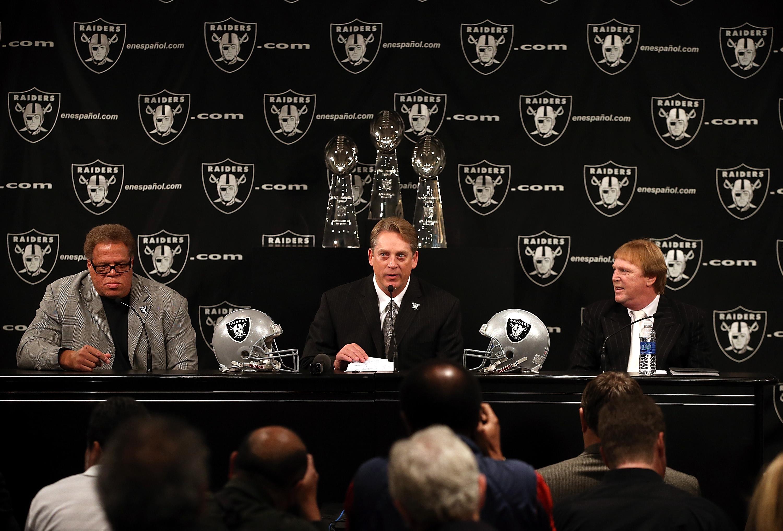 Oakland Raiders Introduce Jack Del Rio