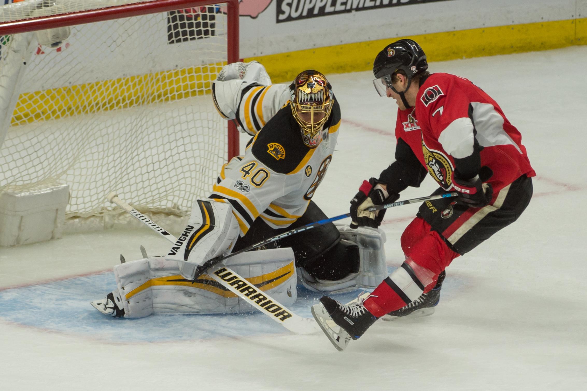 NHL: Stanley Cup Playoffs-Boston Bruins at Ottawa Senators