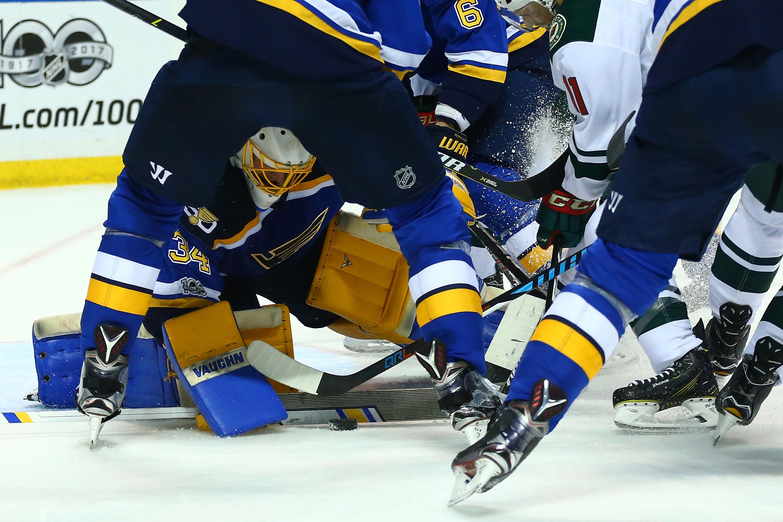 Minnesota Wild v St Louis Blues - Game Four