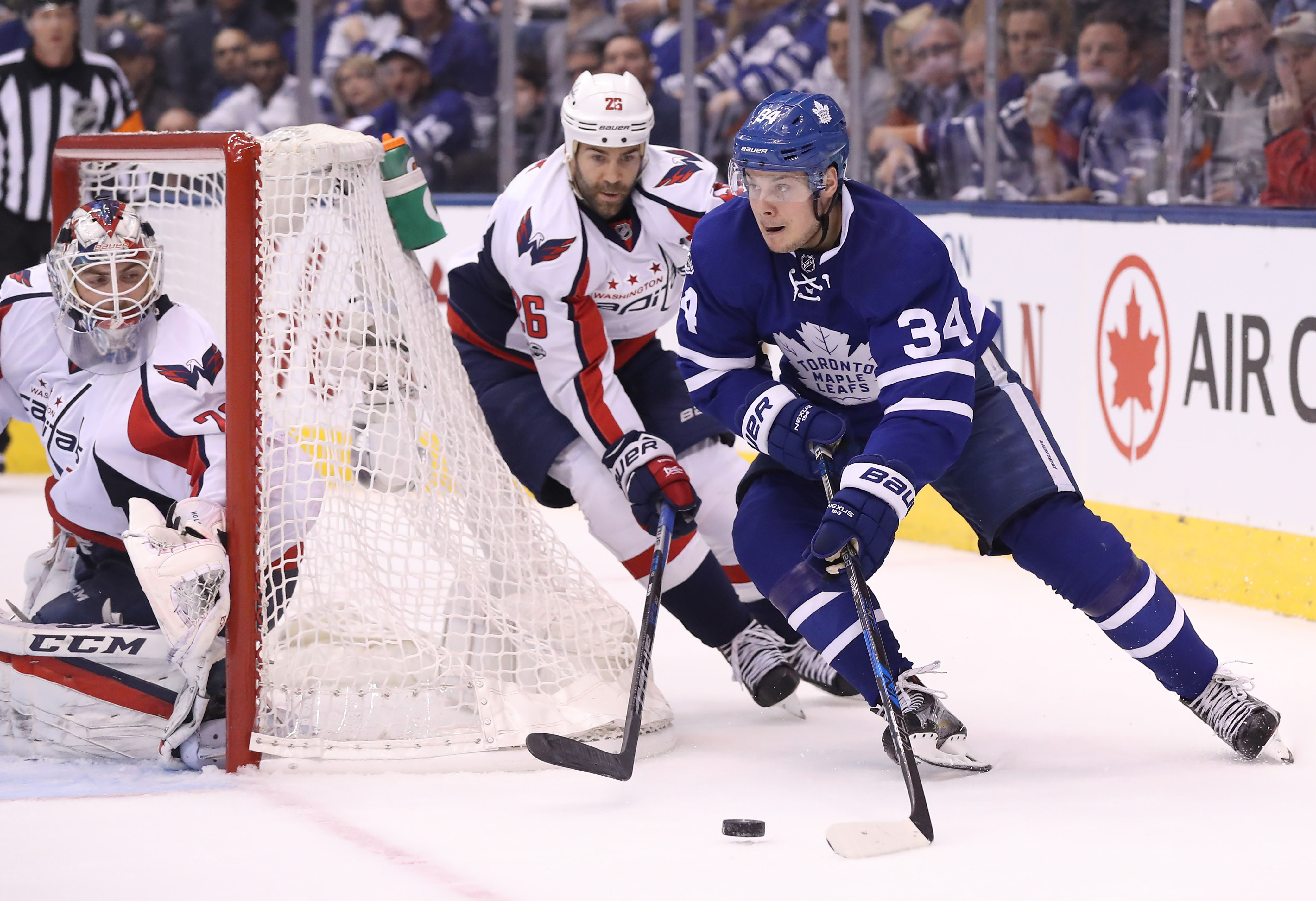 NHL: Stanley Cup Playoffs-Washington Capitals at Toronto Maple Leafs