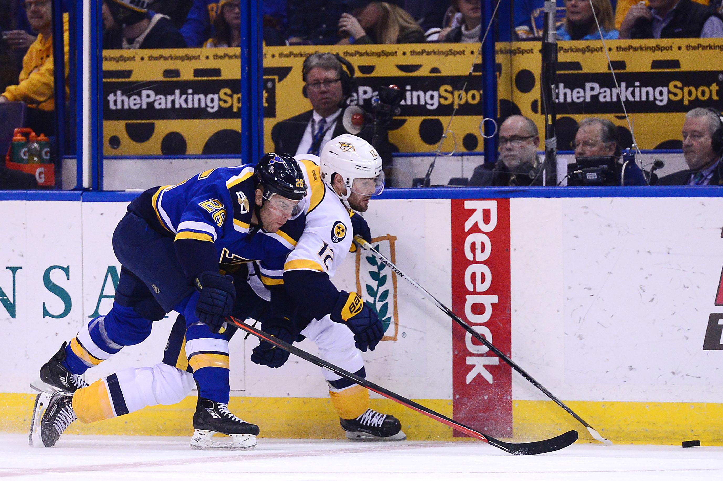 NHL: Nashville Predators vs. St. Louis Blues