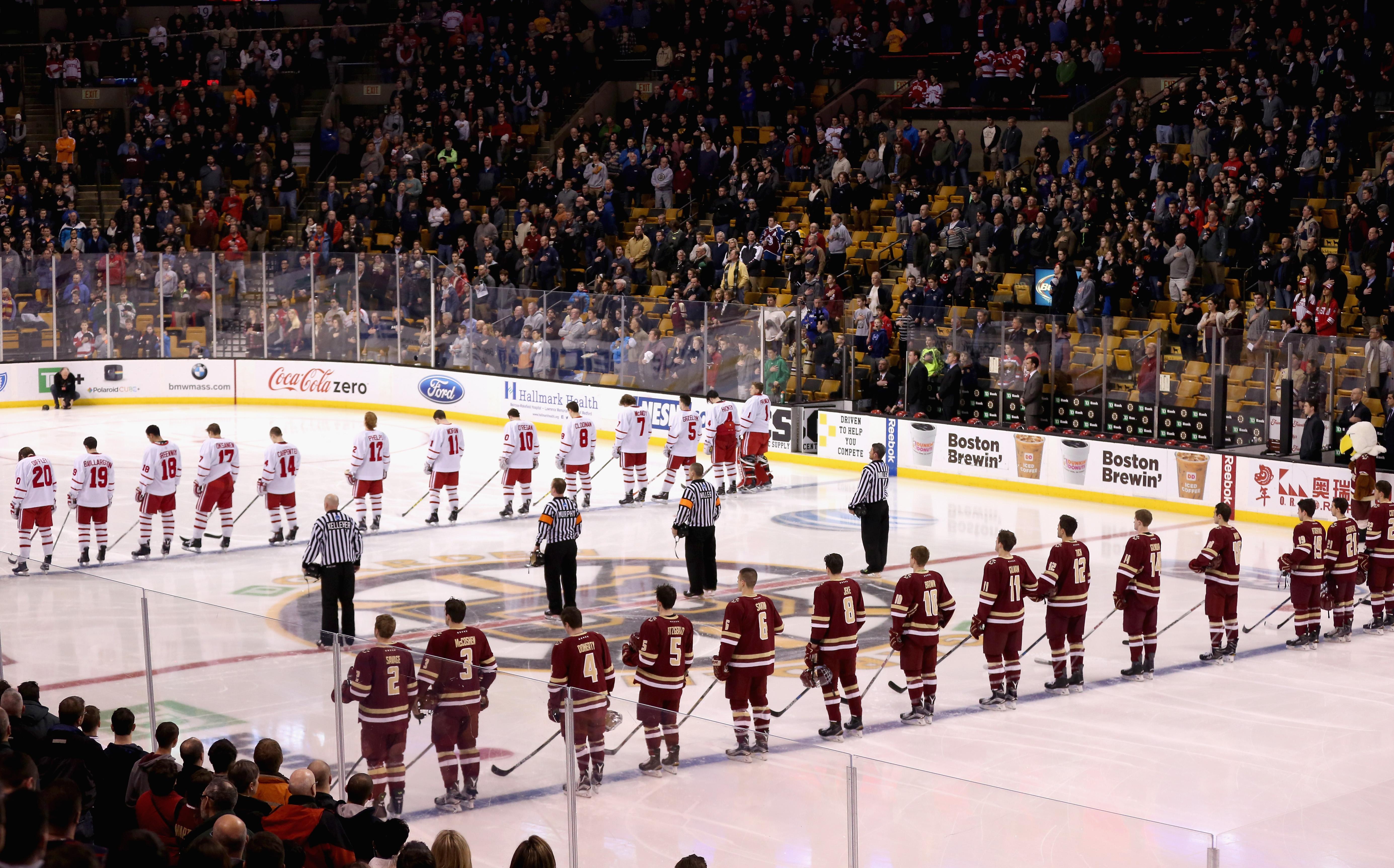 Boston College Men's Hockey - BC Interruption