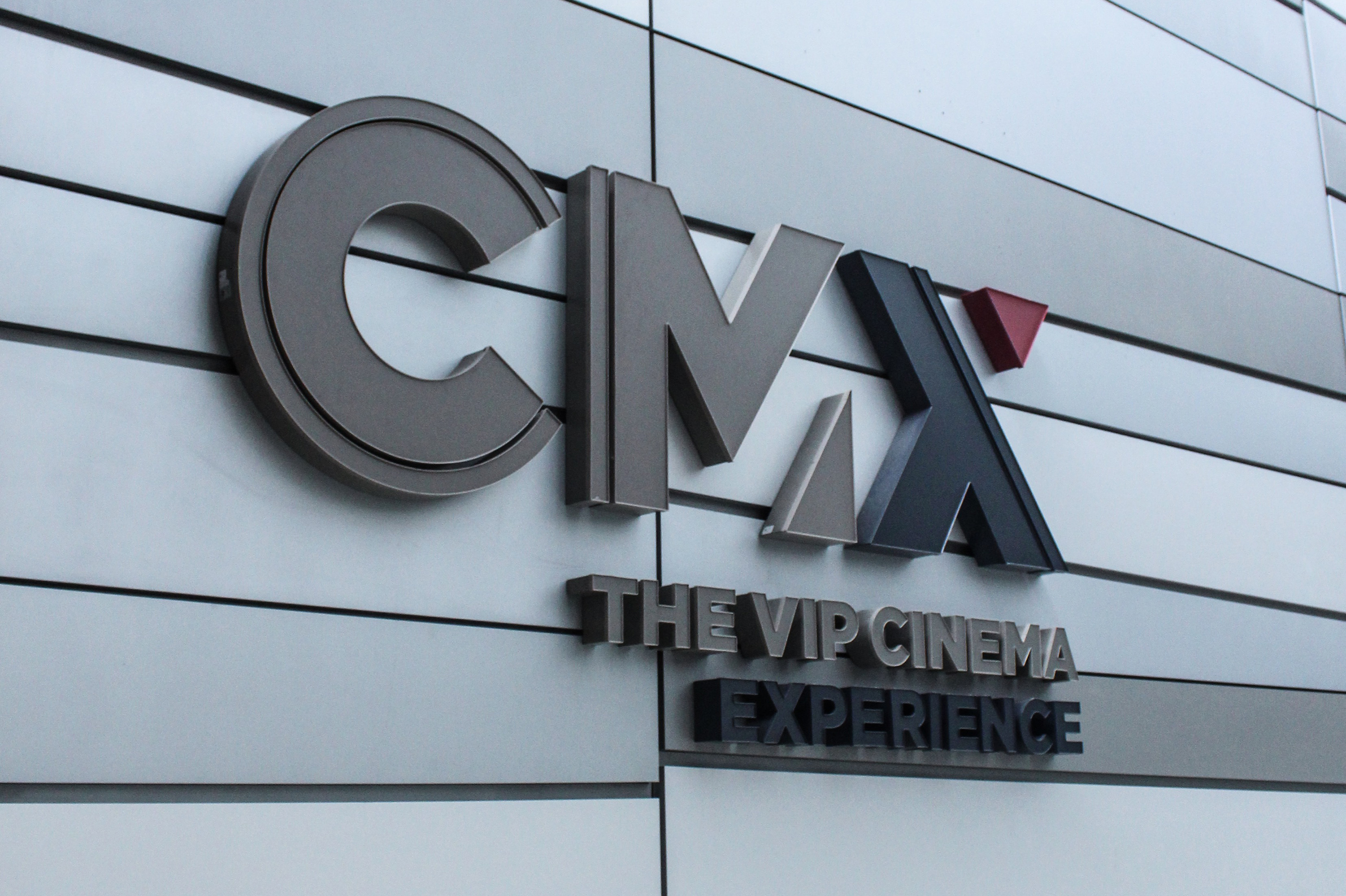 Outside the new CMX cinema in Brickell City Centre