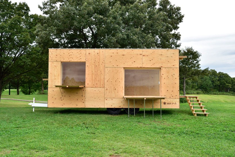 Tiny house by Kengo Kuma is perfect for the minimalist nomad