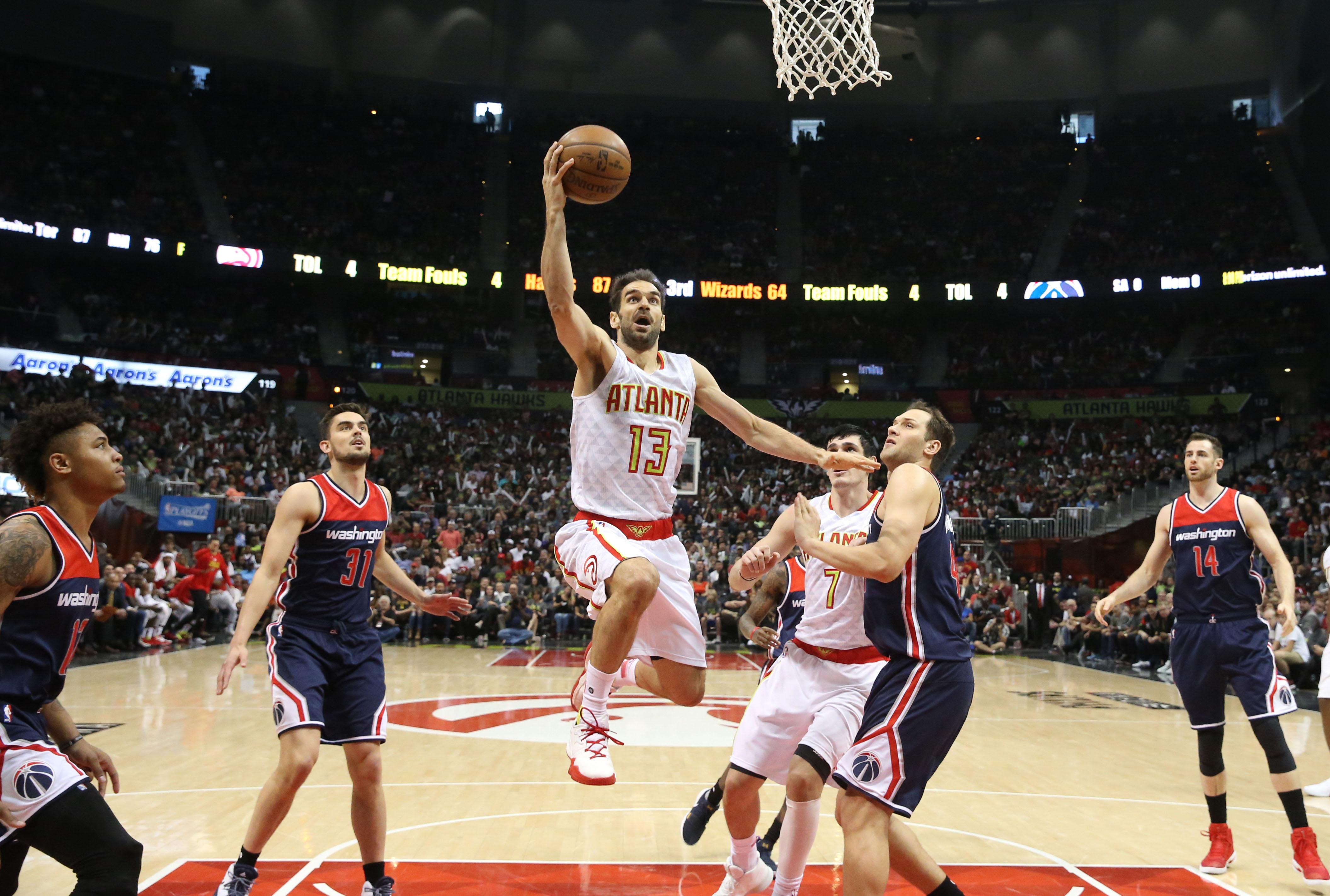 NBA: Playoffs-Washington Wizards at Atlanta Hawks
