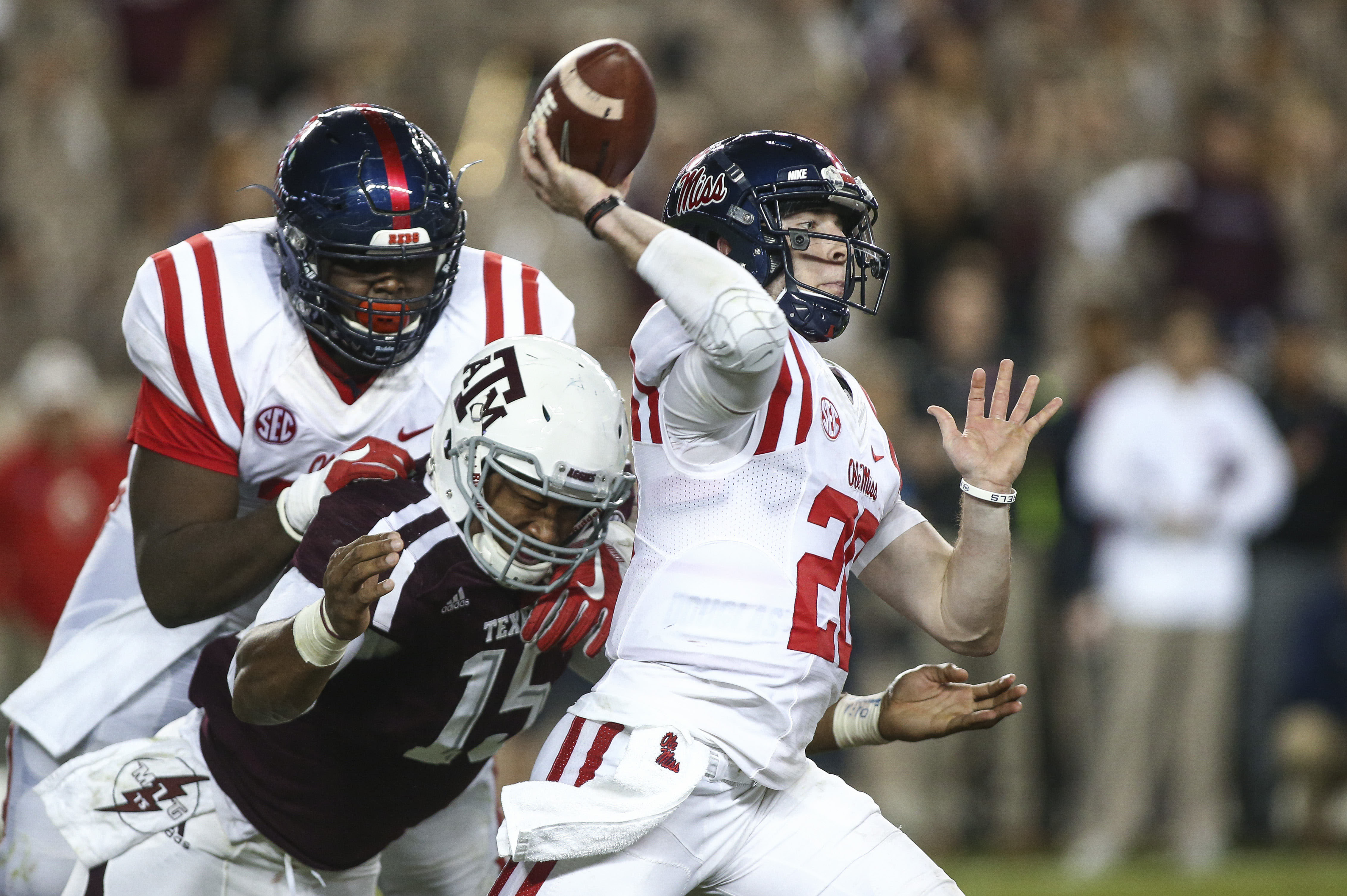 NCAA Football: Mississippi at Texas A&M