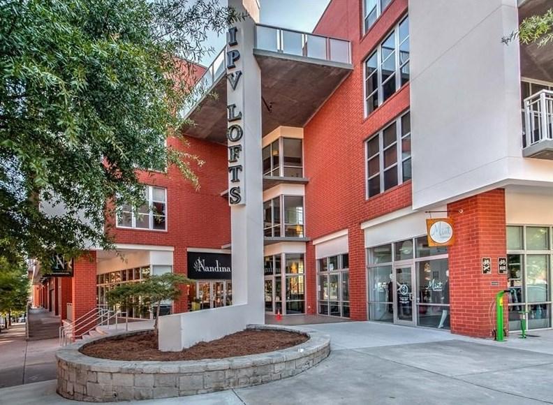 The IPV Lofts complex in Inman Park, Atlanta.