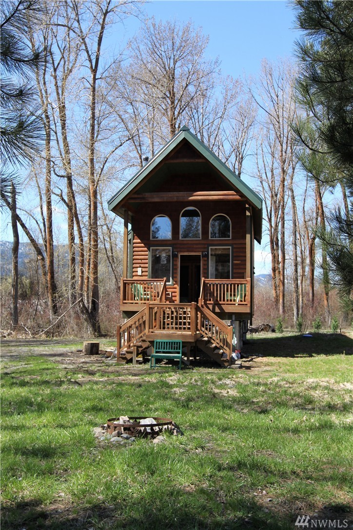 A tiny house on 700 feet of waterfront lists at $360K