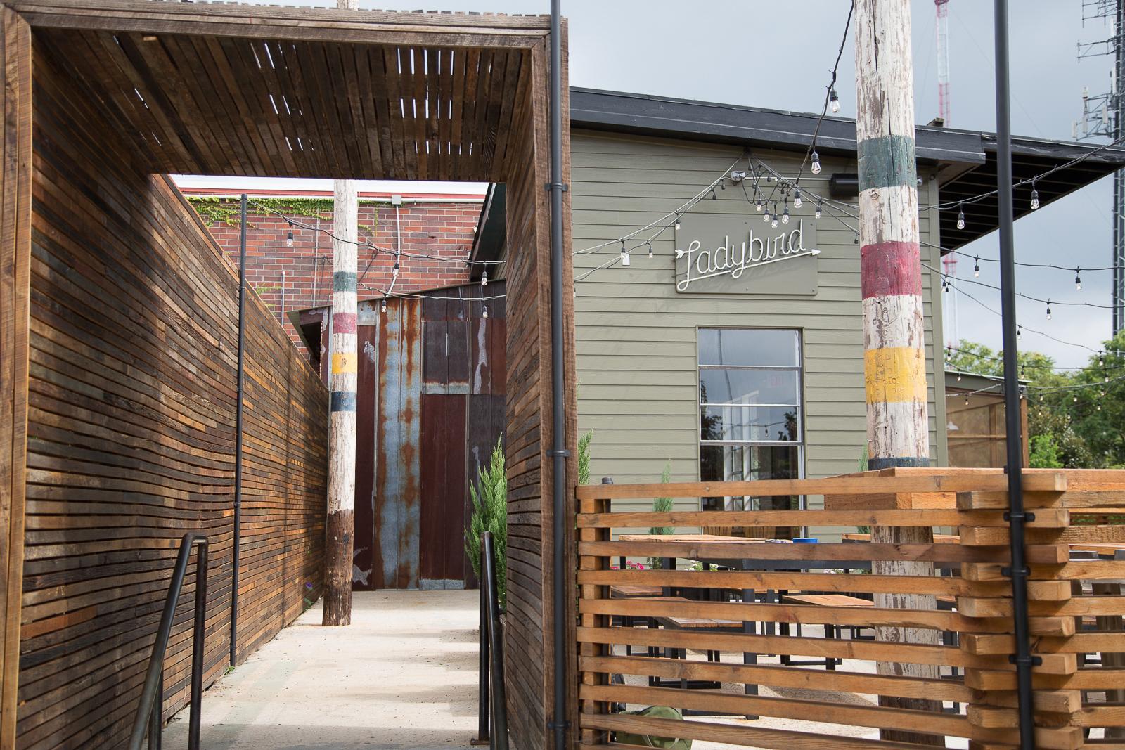 Exterior shot of Ladybird Grove & Mess Hall.