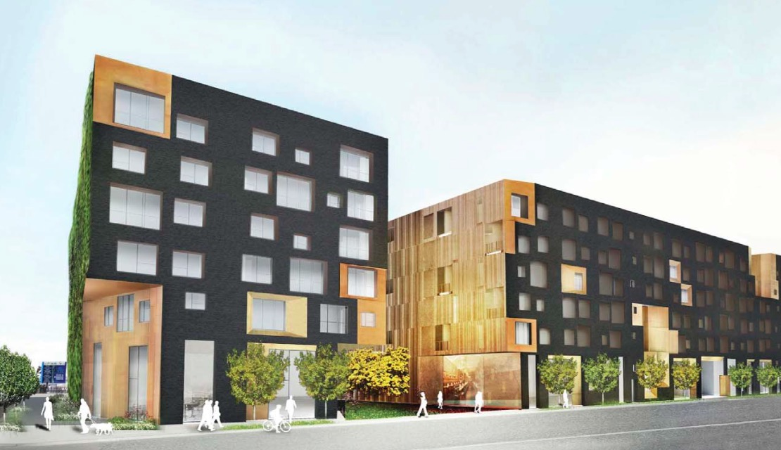 Rendering of Arts District project