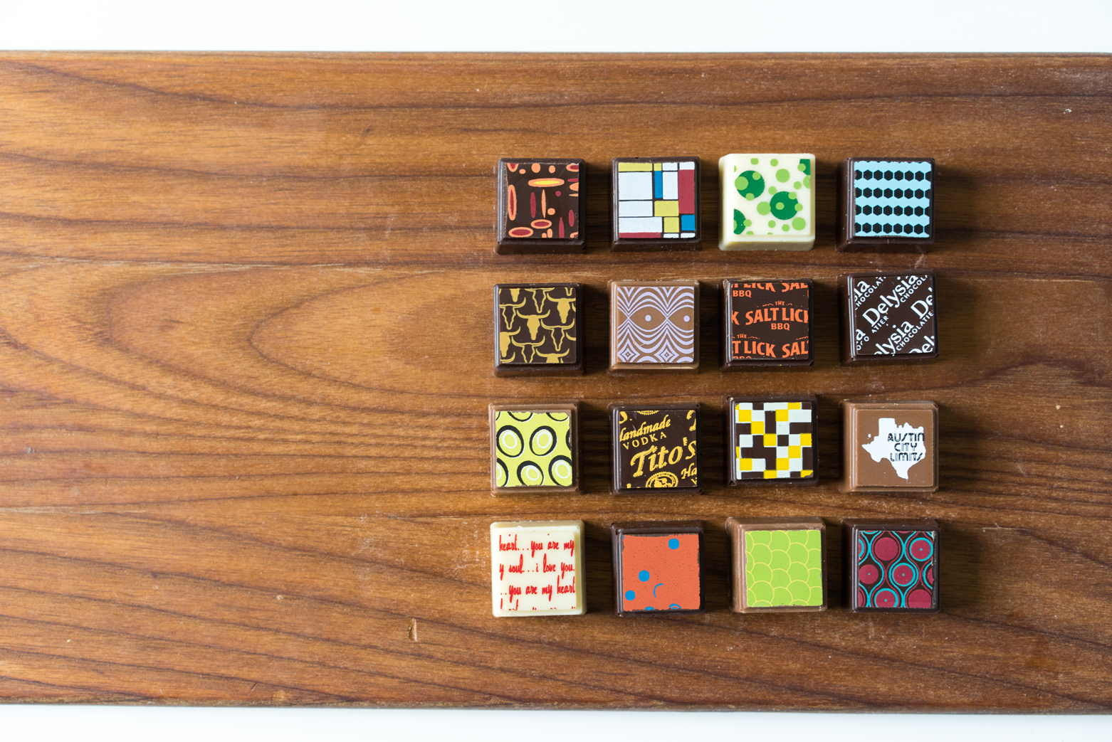 Delysia Chocolatier's Austin-inspired truffle collection