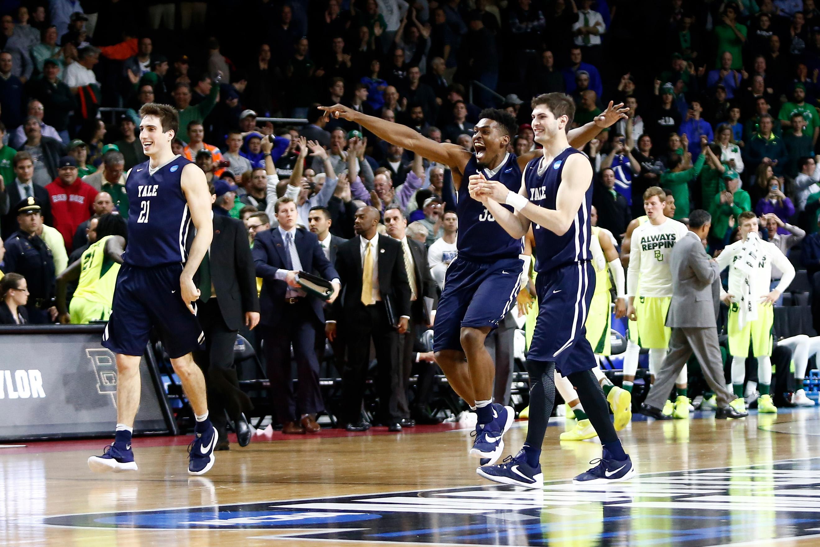 NCAA Basketball: NCAA Tournament- Baylor University vs Yale University