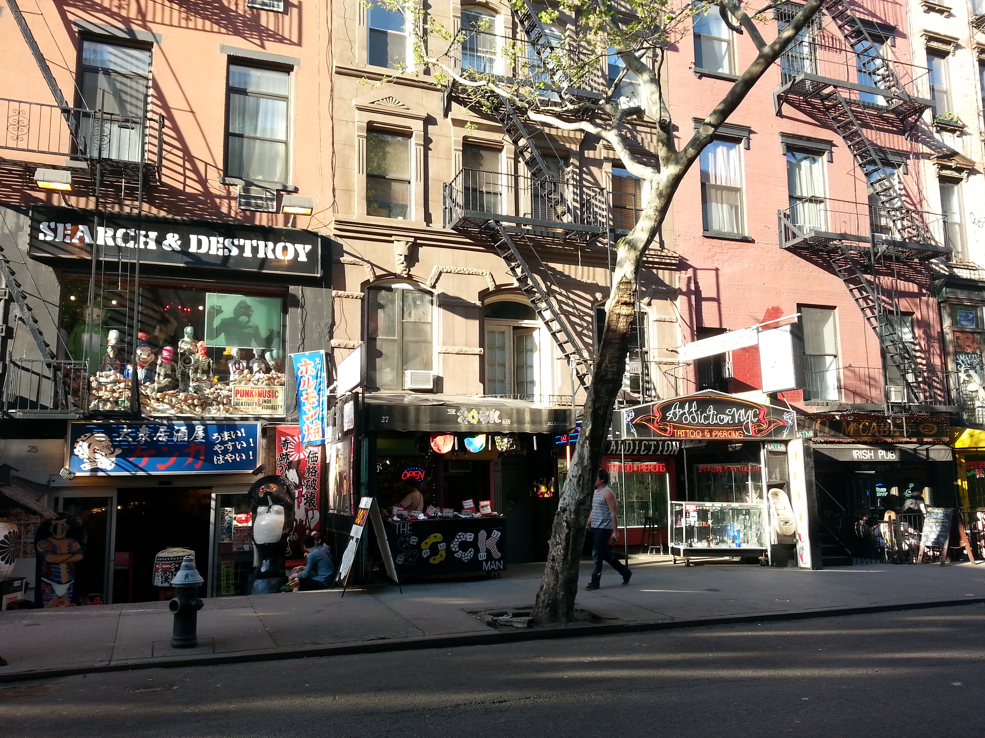 The strange history of the East Village's most famous street