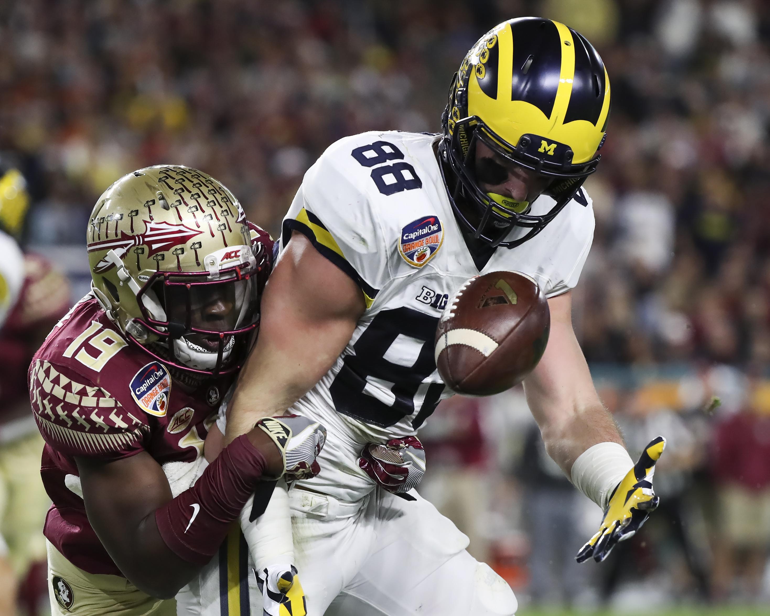 NCAA Football: Orange Bowl-Michigan vs Florida State