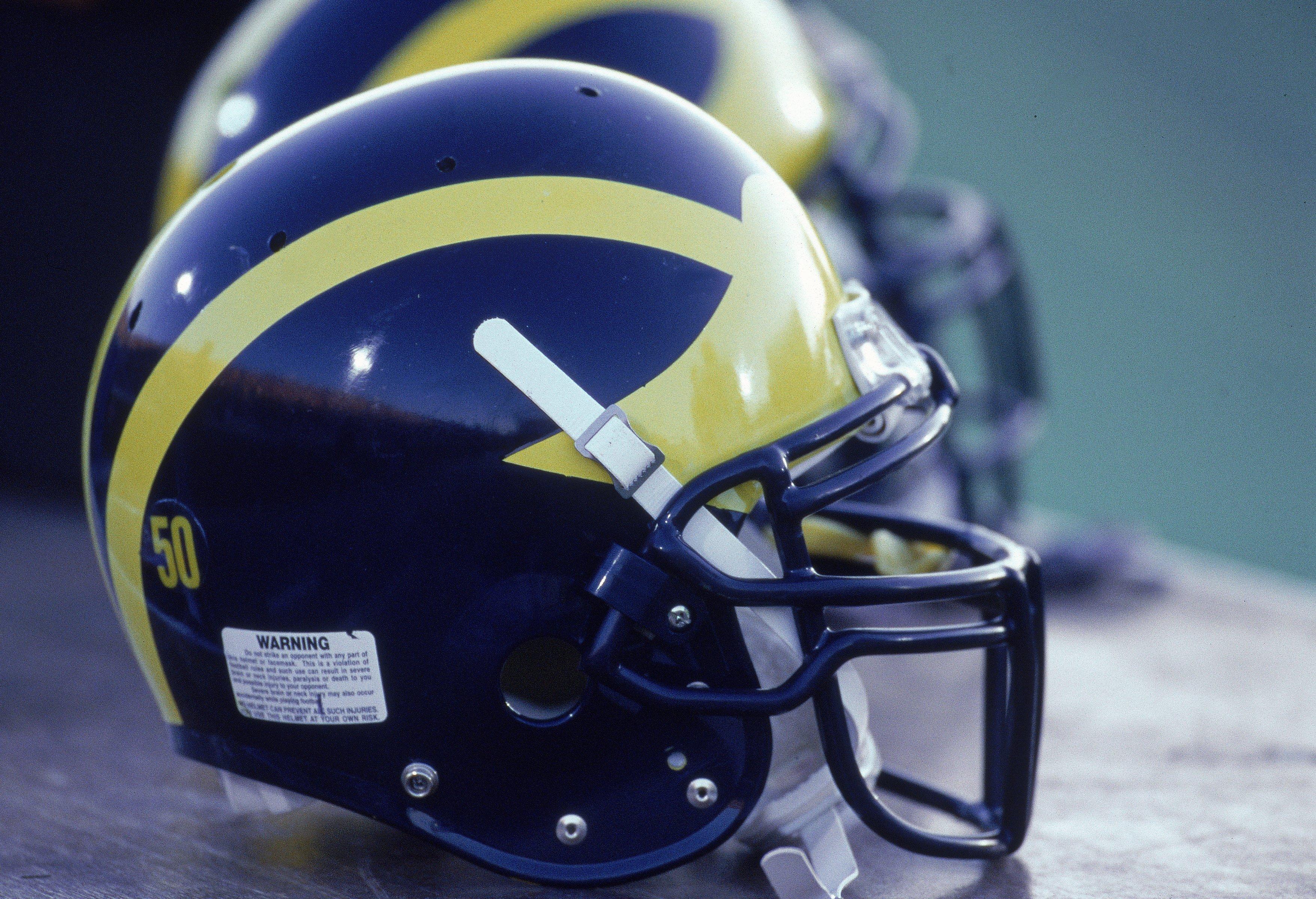 View of Helmet