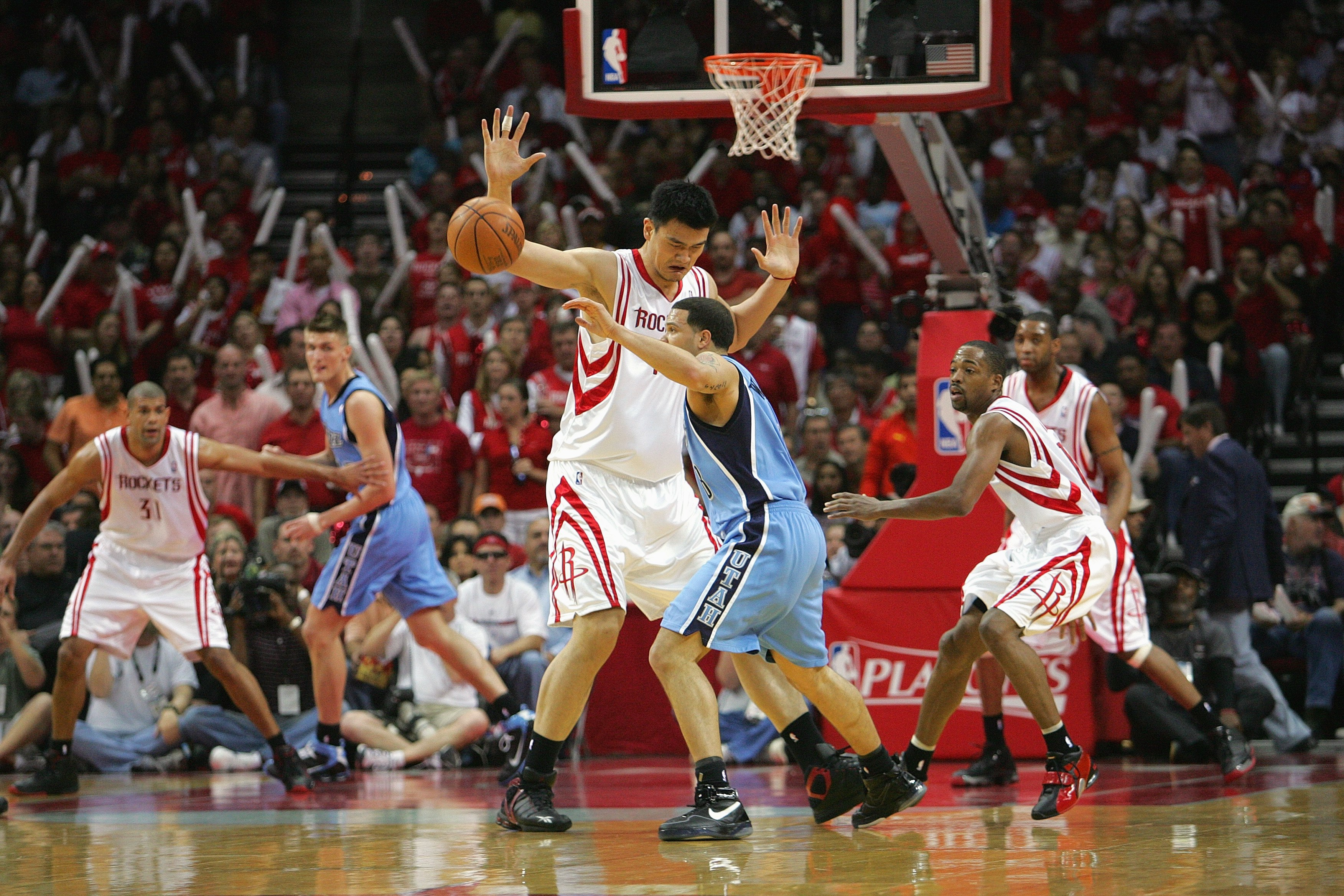 Utah Jazz v Houston Rockets, Game 7