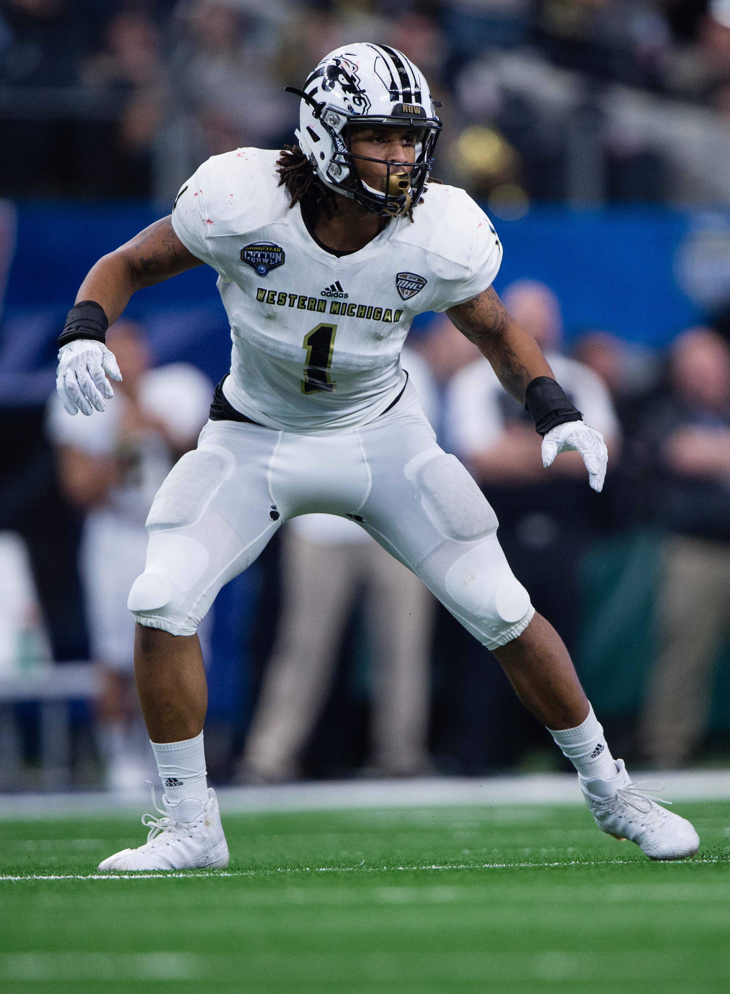 a93fd5f36fc 2017 NFL Draft Results  Pittsburgh Steelers select OLB Keion Adams with  seventh round pick